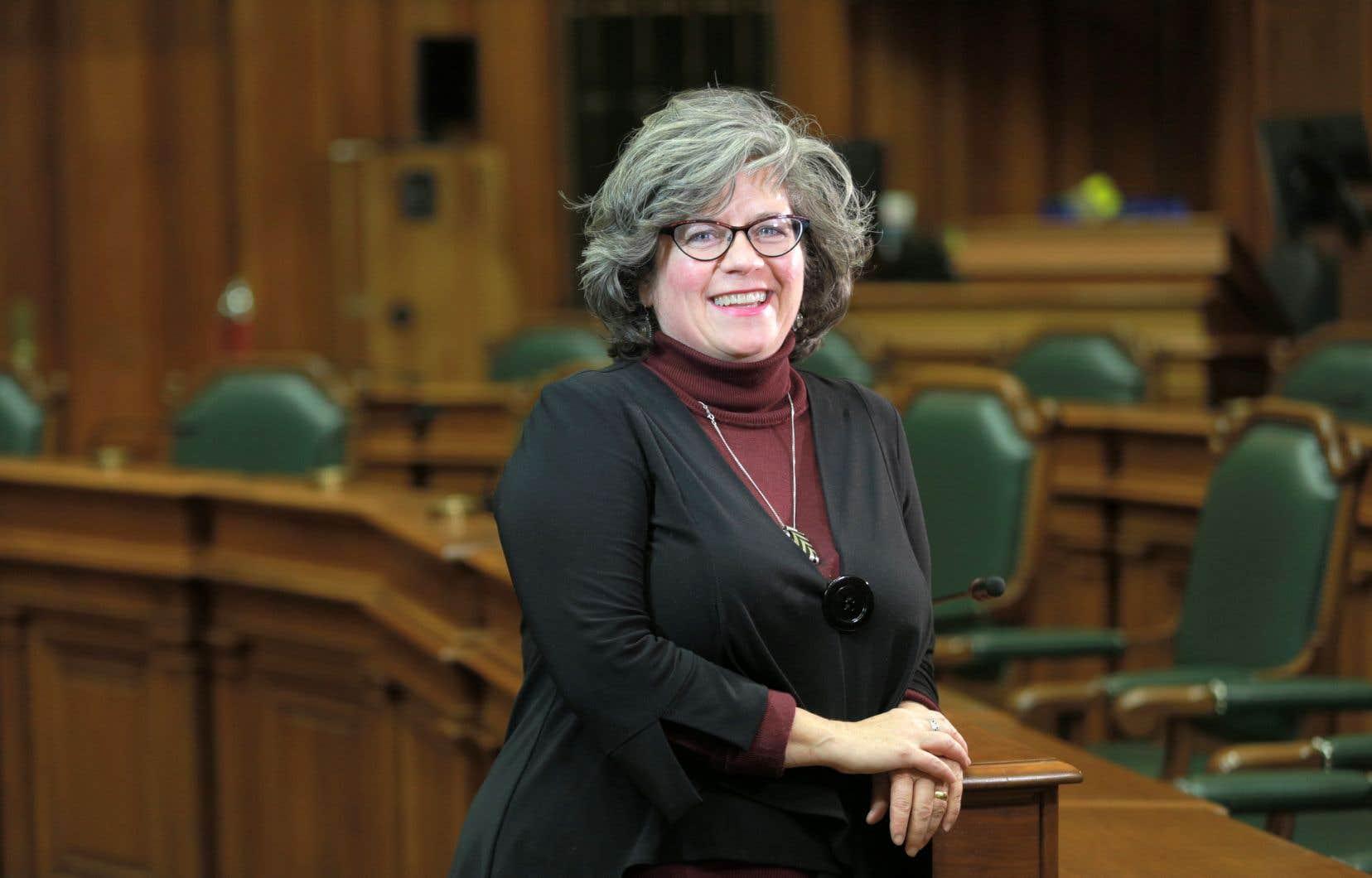 Christine Gosselin, nouvelle responsable à la culture, au patrimoine et au design au comité exécutif de la Ville de Montréal