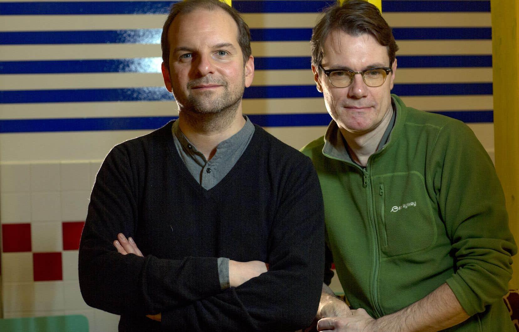 L'auteur Sébastien Harrisson et le metteur en scène Michael Delaunoy se sont rencontrés en 2000. Ils savaient qu'un jour, une production conjointe naîtrait.