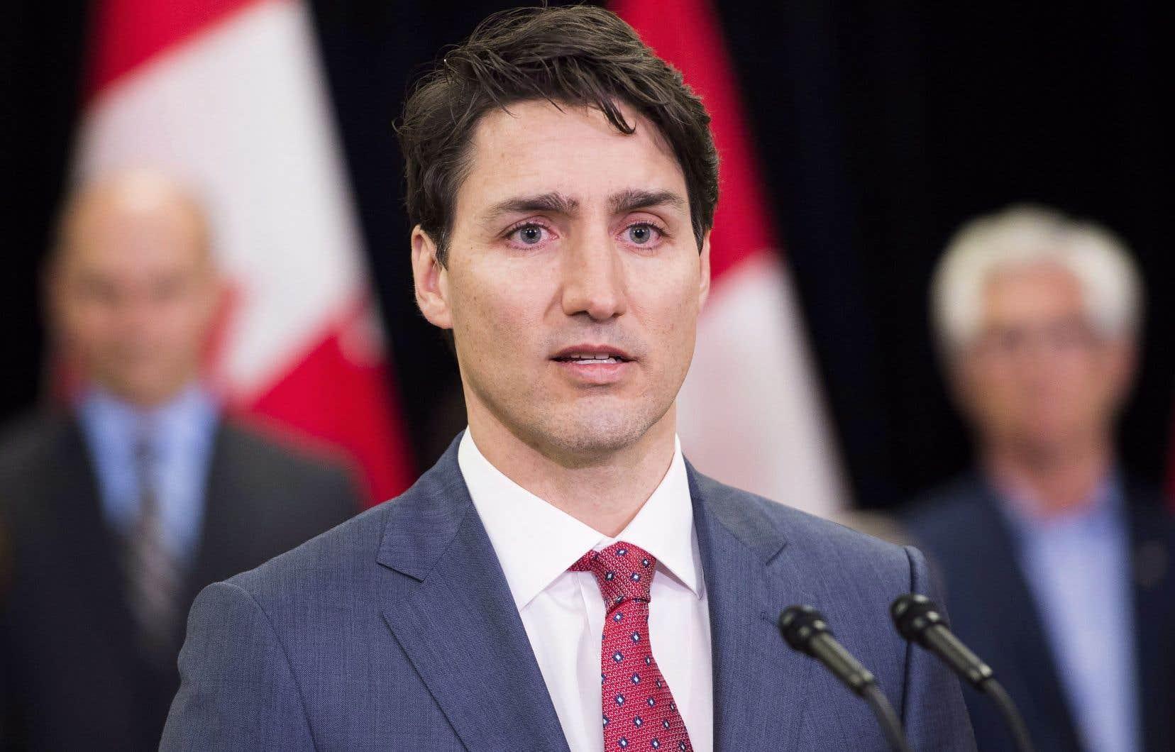 Justin Trudeau sera à Québec jeudi.