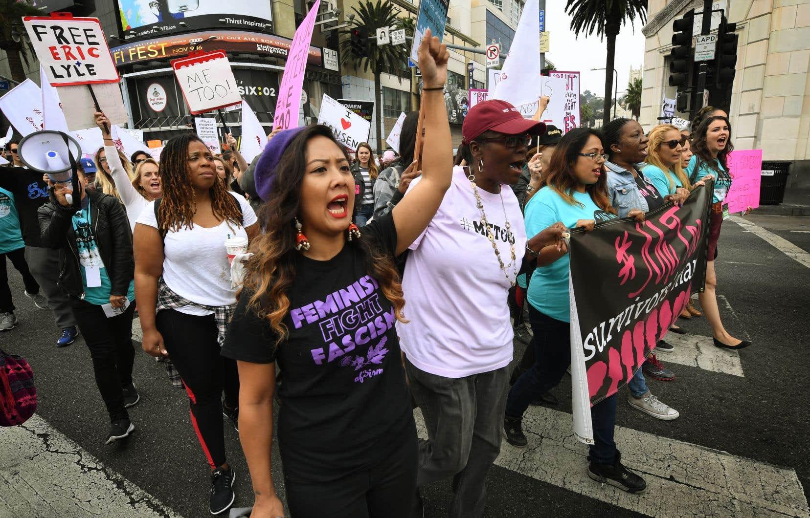 Le rapport évoque aussi la «marche des femmes» aux États-Unis qui «s'est transformée en un phénomène mondial» pour les droits des femmes.