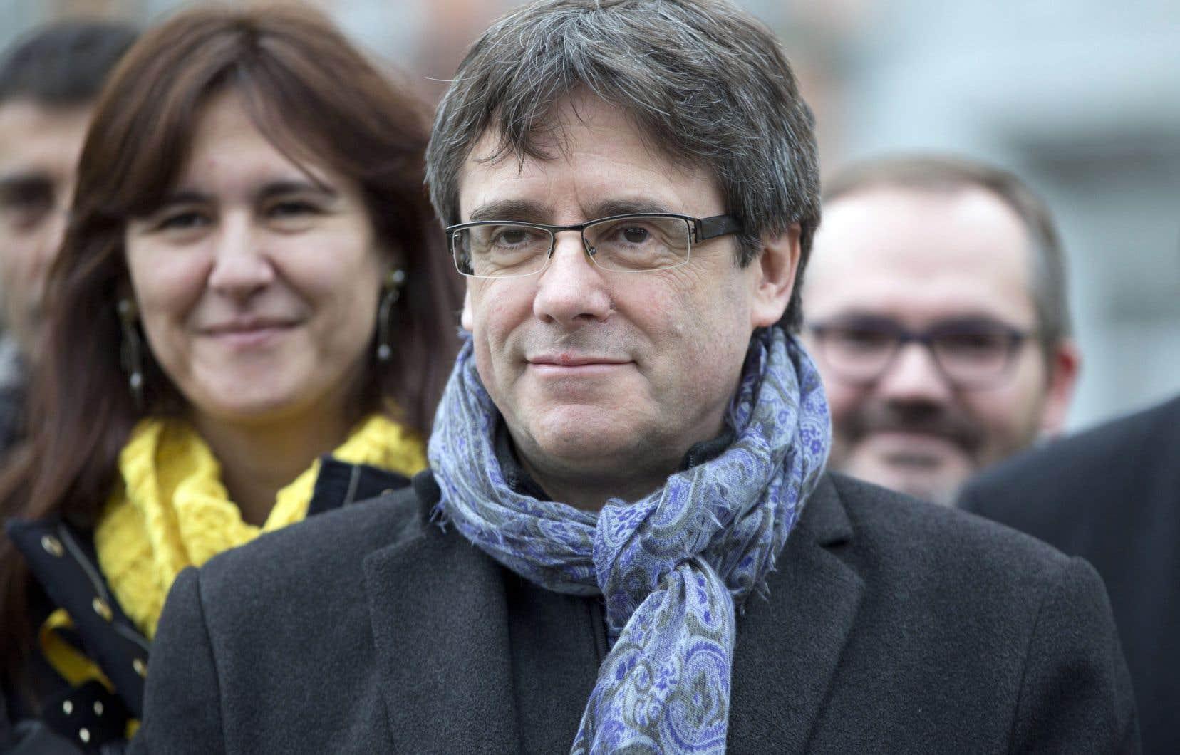 Le dirigeant indépendantiste, Carles Puigdemont