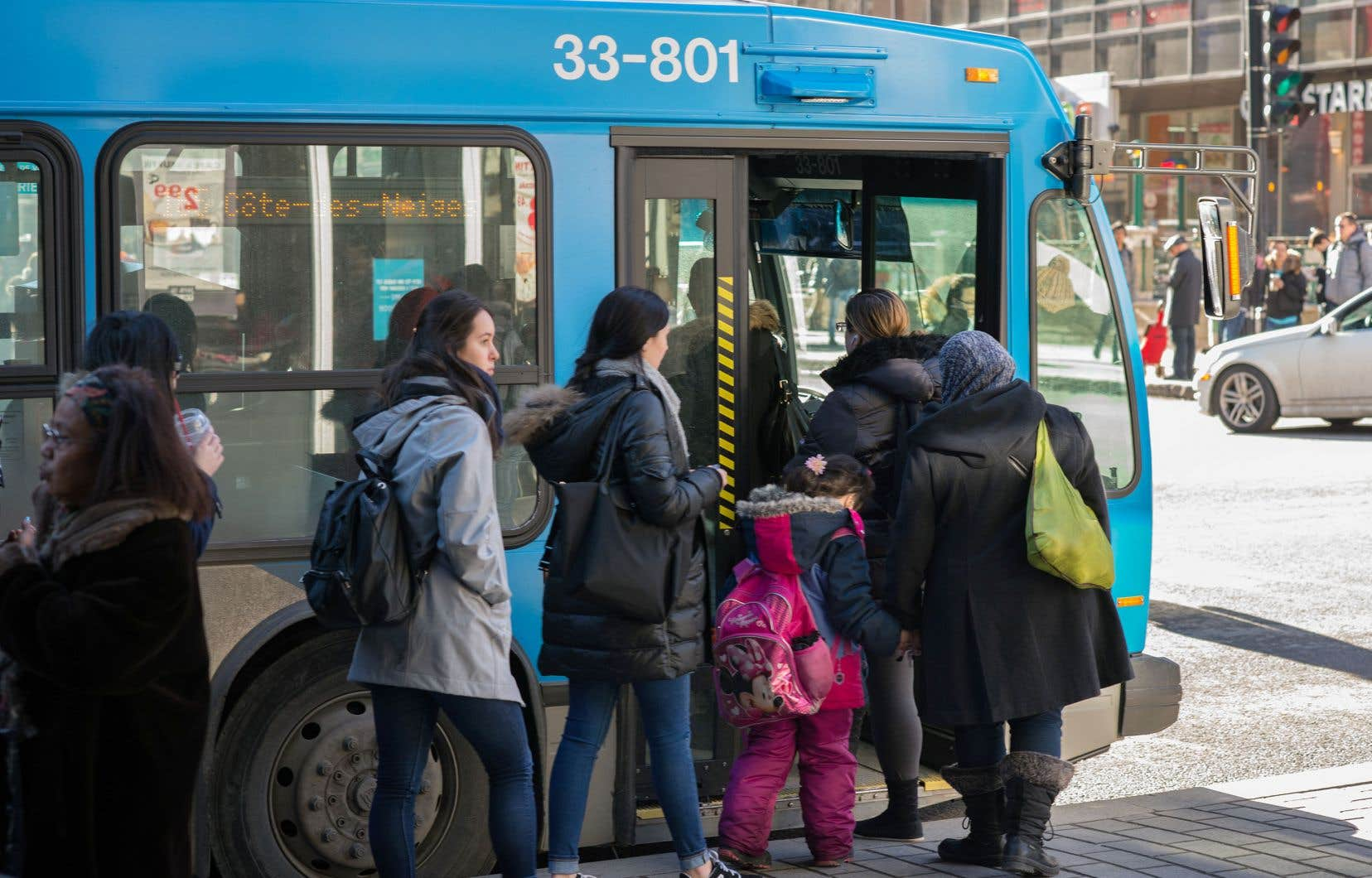 Des circuits d'autobus pourraient être revus en fonction notamment des données d'achalandage et des demandes de la clientèle.