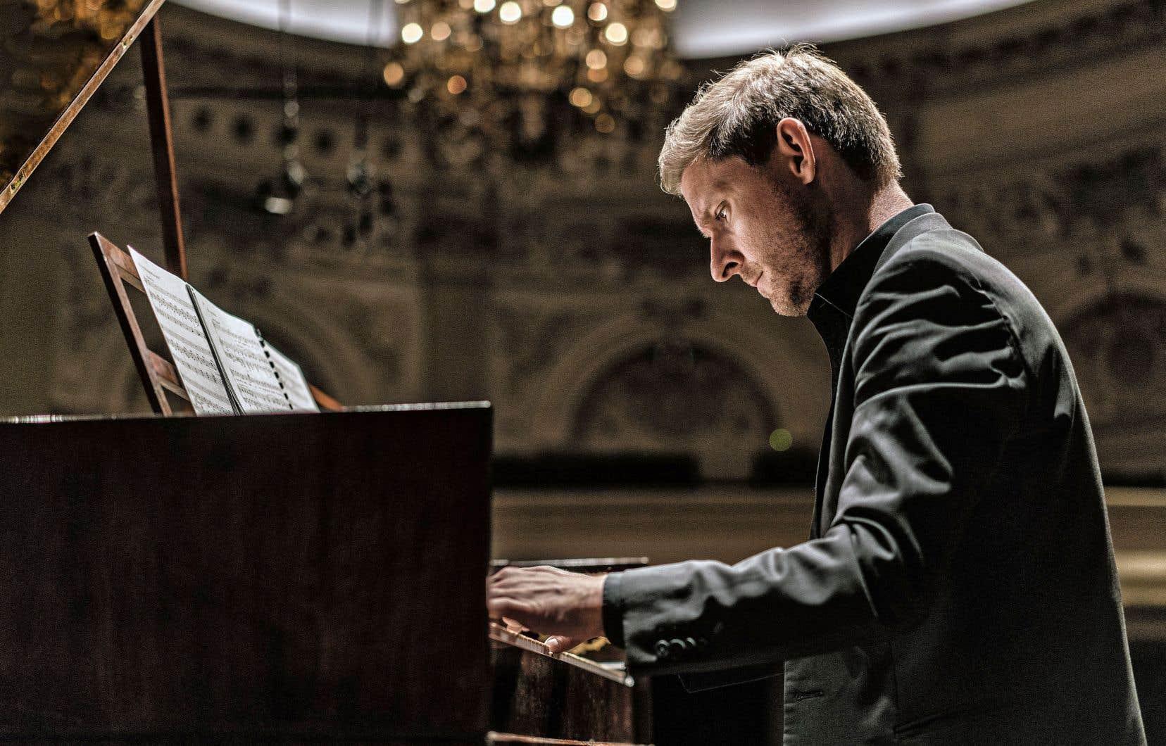 Le pianiste Kristian Bezuidenhout