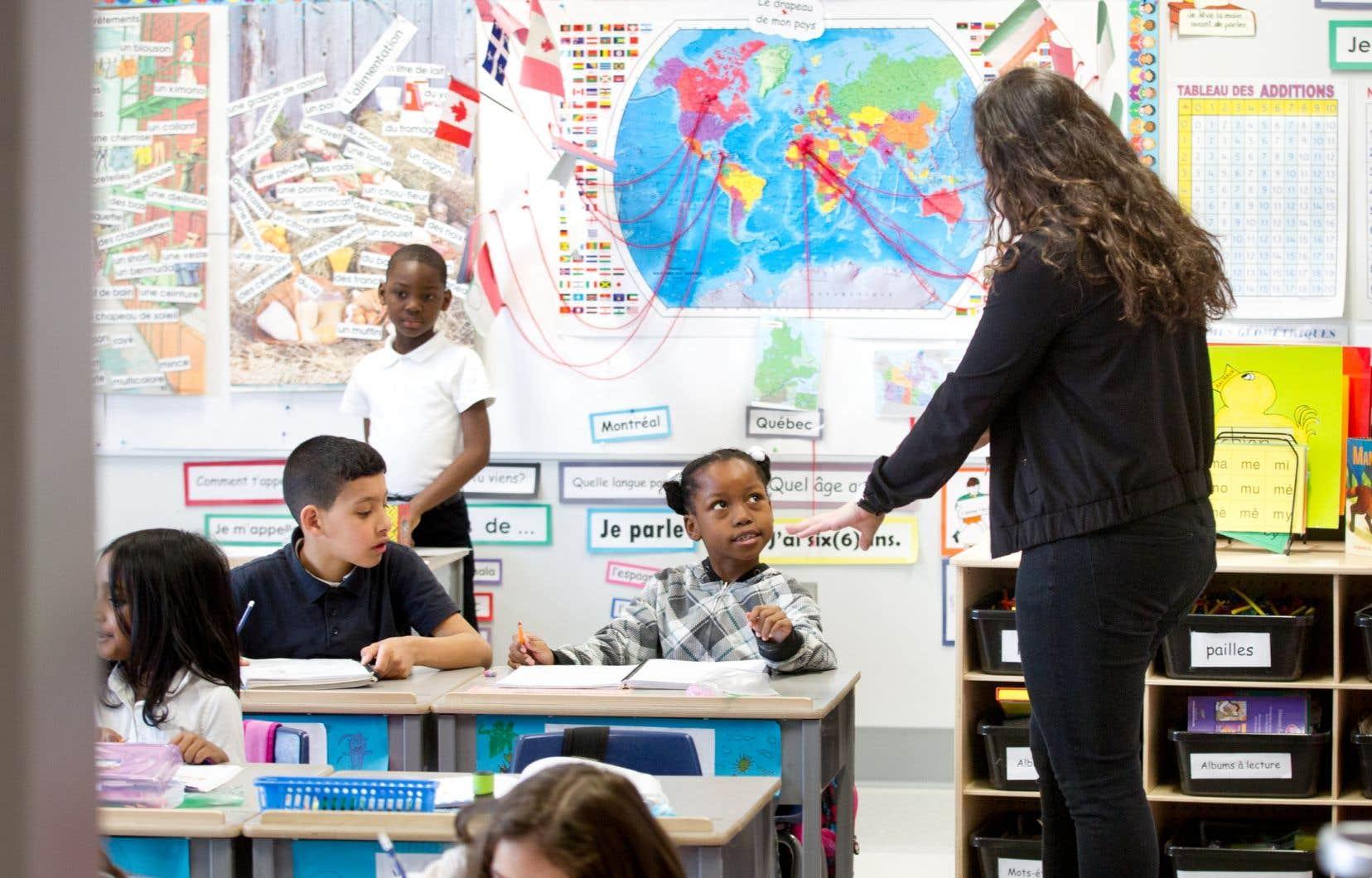 La présidente de l'Alliance des professeures et des professeurs de Montréal dit qu'il faut «trouver des suppléants parce que nos profs sont épuisés».