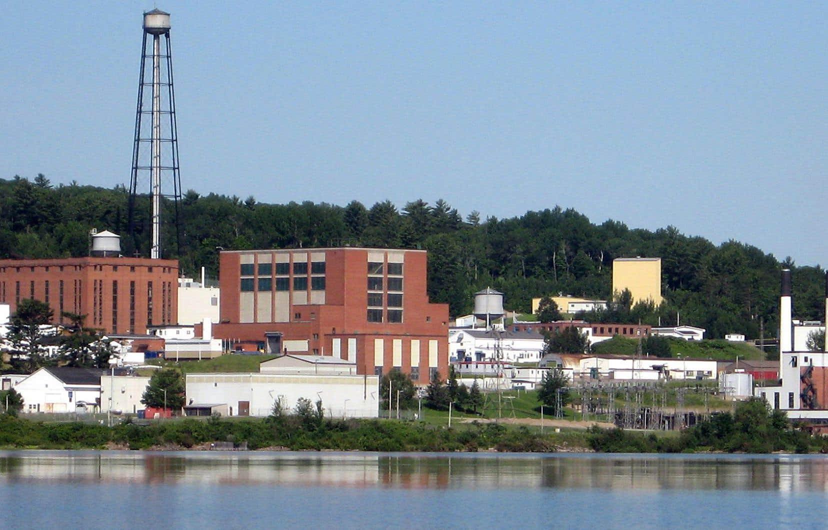 Le site qu'opèrent les Laboratoires nucléaires canadiens à Chalk River.