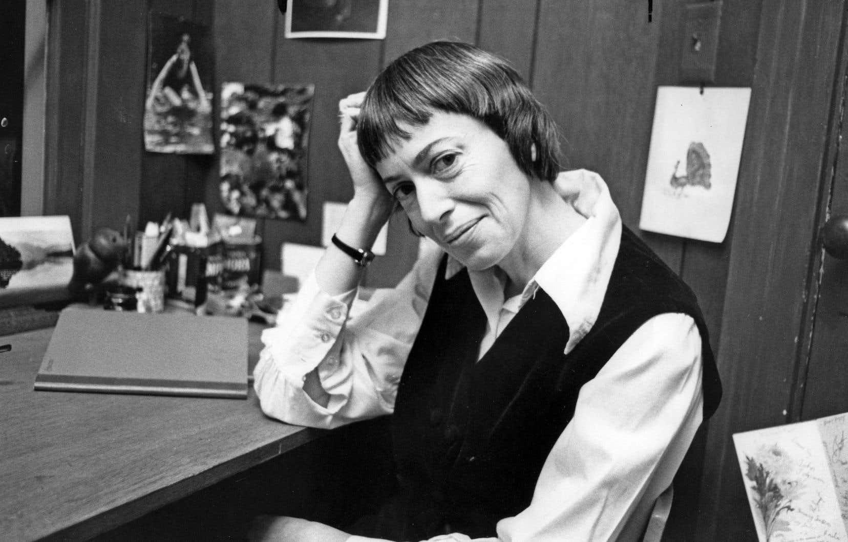L'auteure célébrée, notamment pour sa série «Earthsea», ici photographiée en 1972