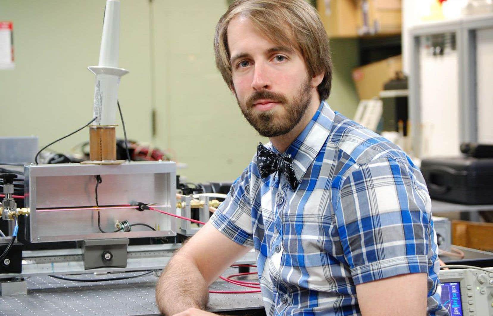 Jean-Sébastien Boisvert, étudiant au postdoctorat à l'INRS, est l'un des deux lauréats de l'Acfas.