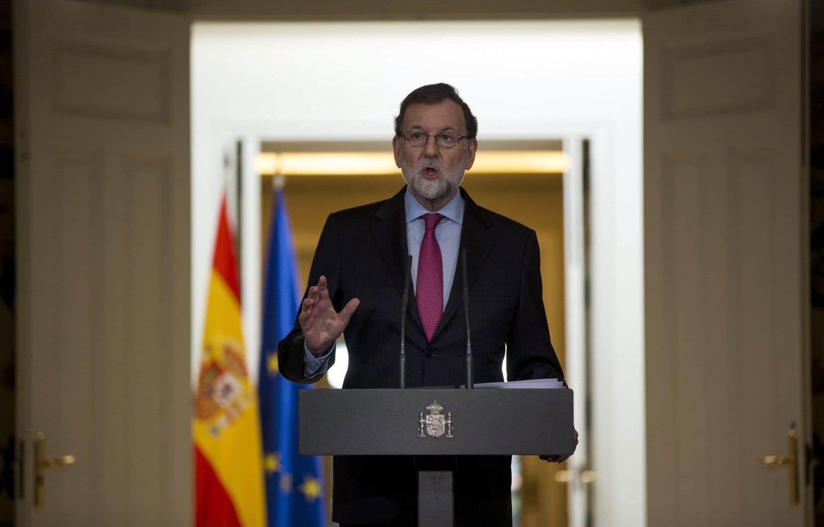 Le chef du gouvernement espagnol, Mariano Rajoy