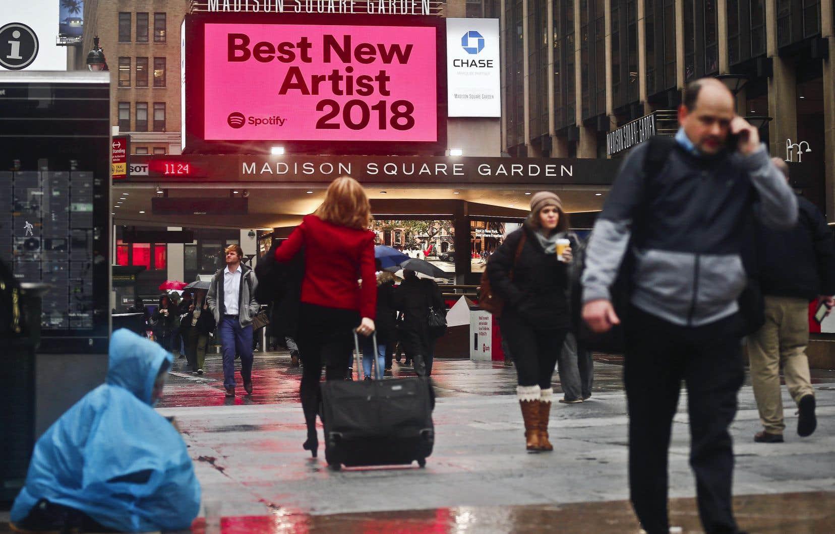 La cérémonie des prix Grammy sera diffusée en direct du Madison Square de New York.