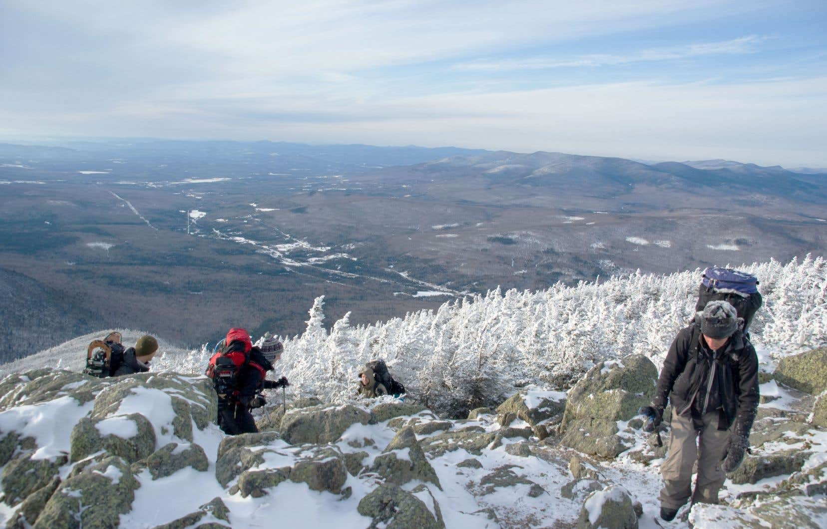 Excursion au mont Adams, dans le New Hampshire.