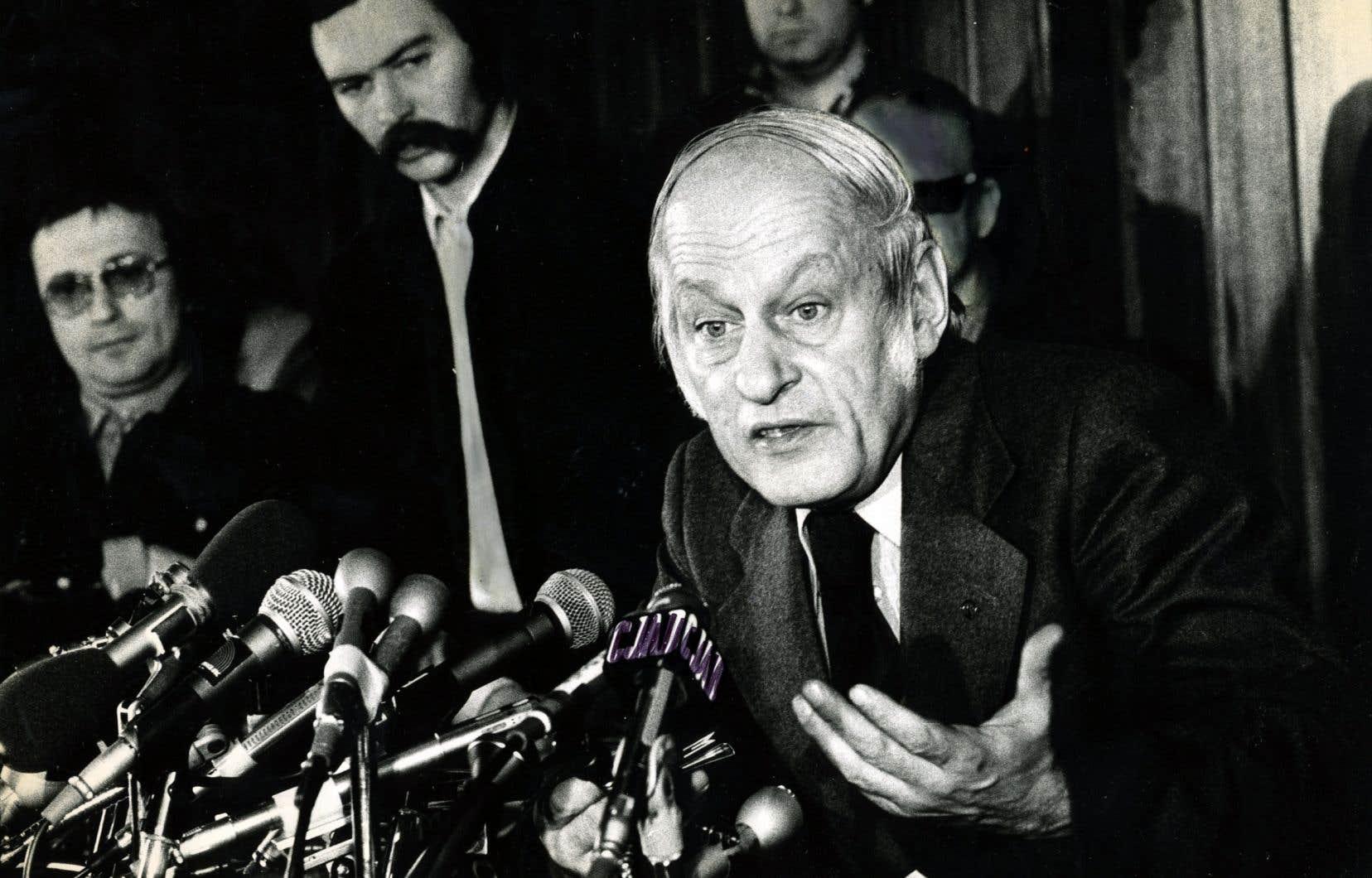 La Fondation René-Lévesque souligne le 50e anniversaire de la publication de «Option Québec», un manifeste fondateur qui a eu une influence majeure sur l'évolution du Québec et du Canada.