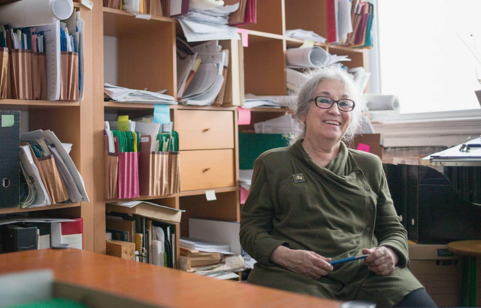 Josette Michaud a été la première femme présidente de l'Ordre des architectes du Québec en 1992.