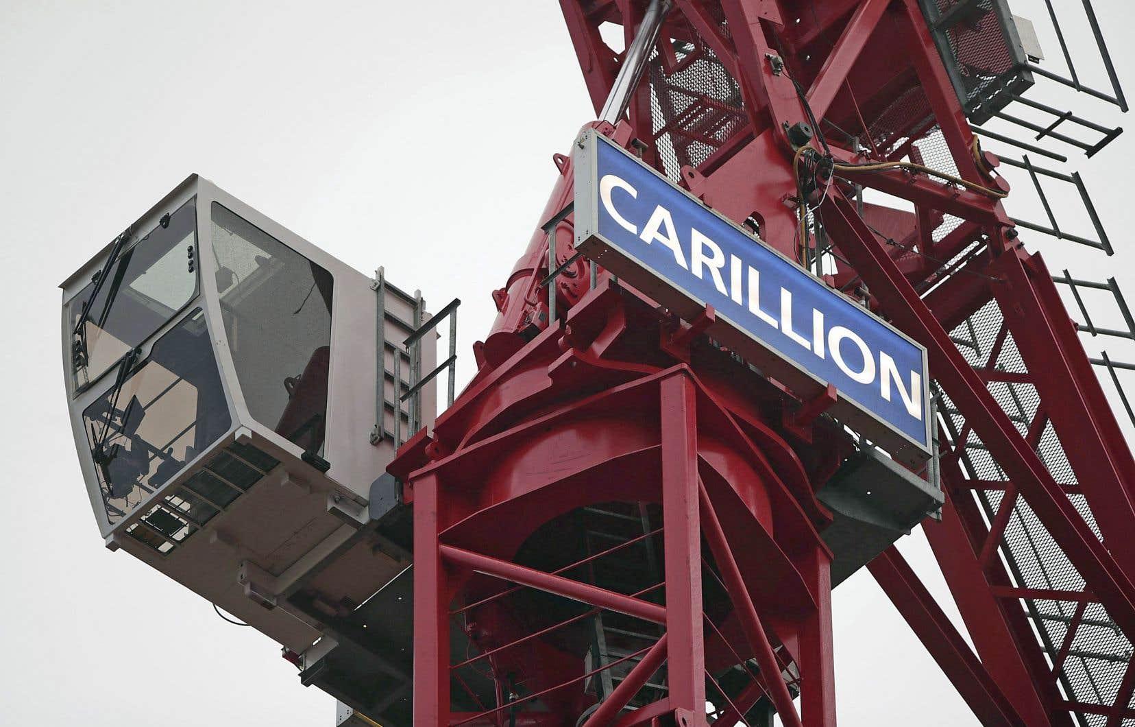 Le groupe Carillion a mis la clé sous la porte le 15janvier dernier.