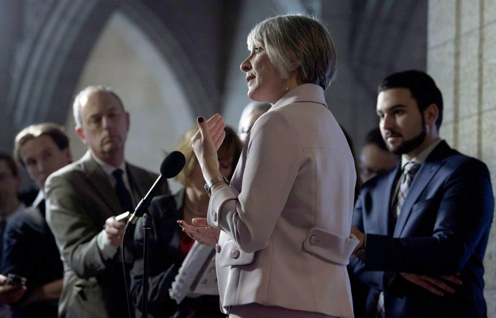 La ministre de l'Emploi et du Travail, Patricia Hajdu