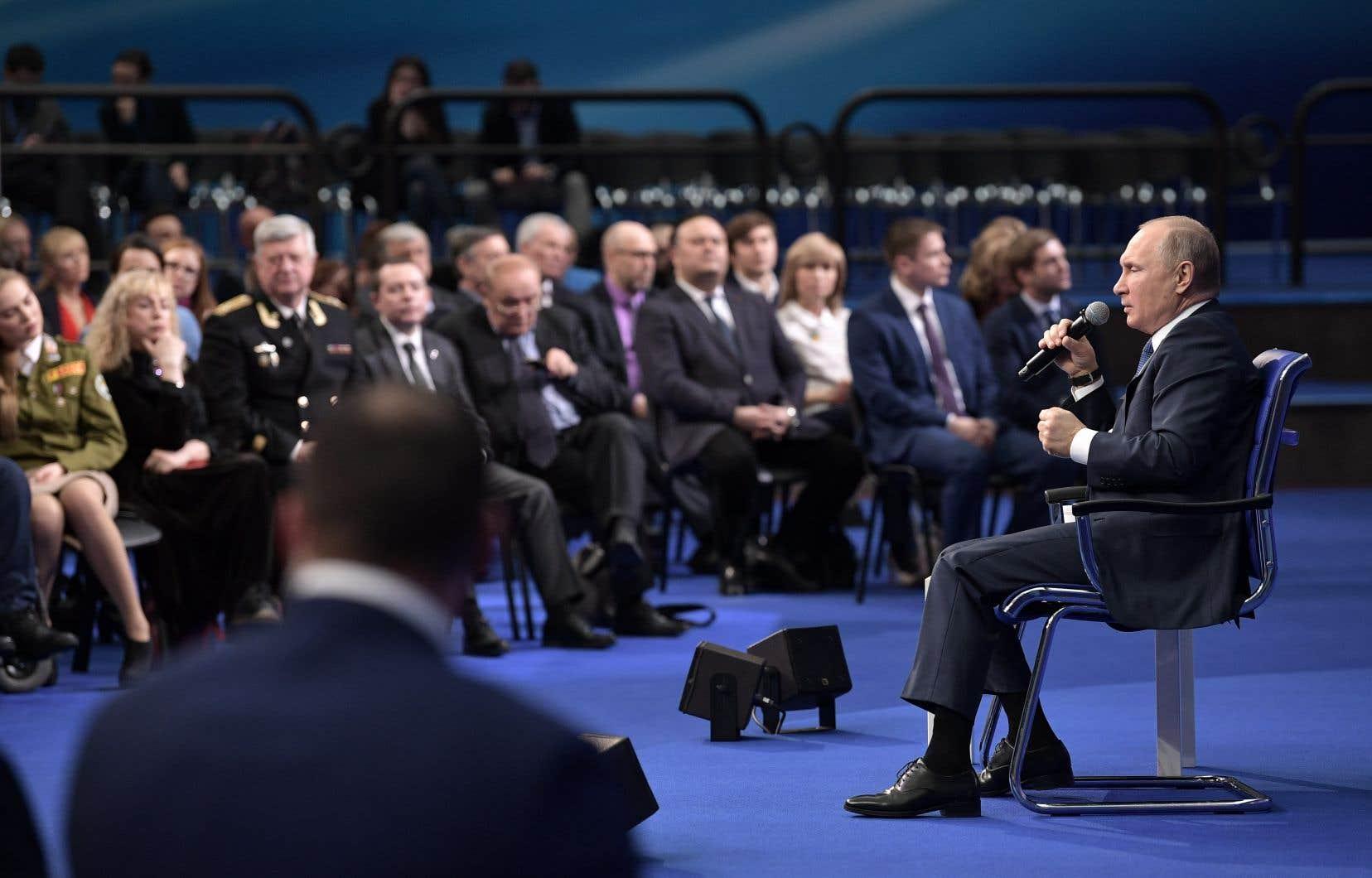 «J'espère que la page sera tournée, et d'ailleurs, dans un avenir rapproché», a déclaré Vladimir Poutine.