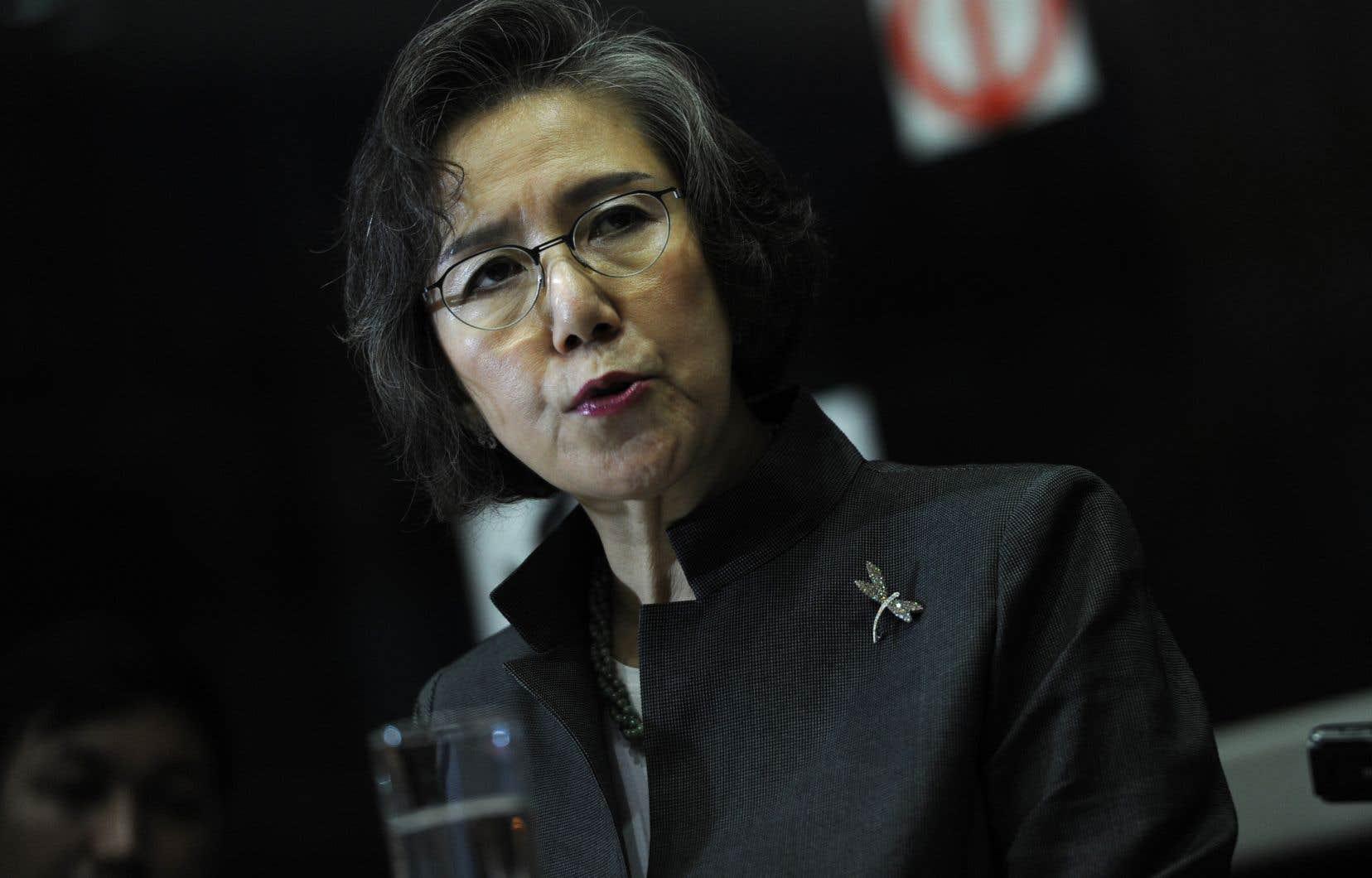 L'envoyée spéciale des Nations unies pour les droits de la personne au Myanmar, Yanghee Lee