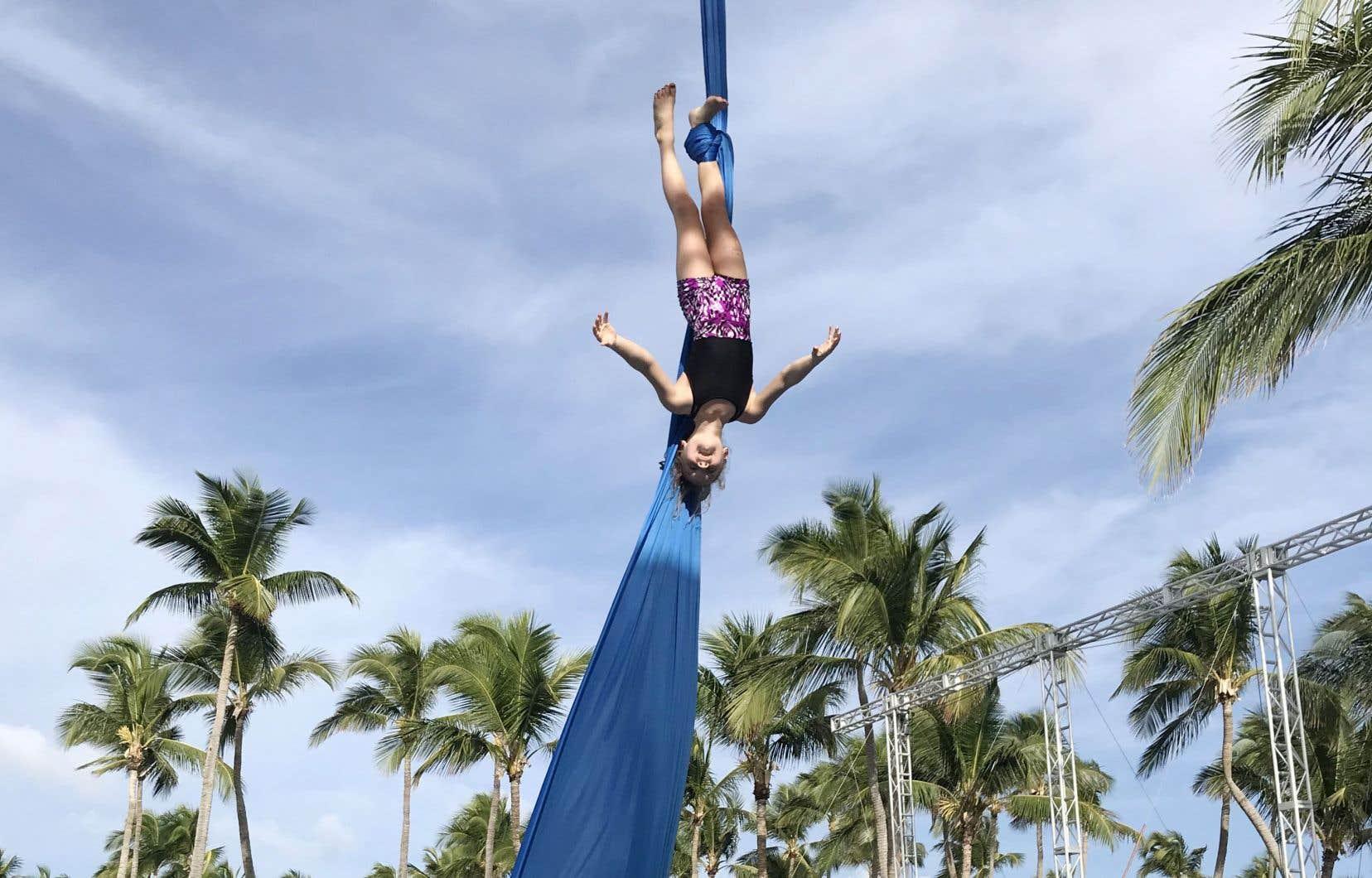 Creactive fait partie du complexe de villégiature du Club Med Punta Cana, en République dominicaine. Conçue en collaboration avec le Cirque du Soleil, c'est la première aire du genre à avoir vu le jour dans le monde.