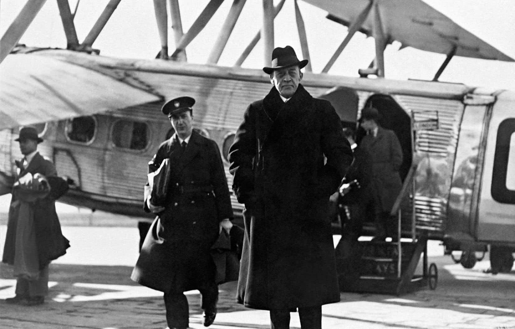 Sergueï Rachmaninov en mars 1934