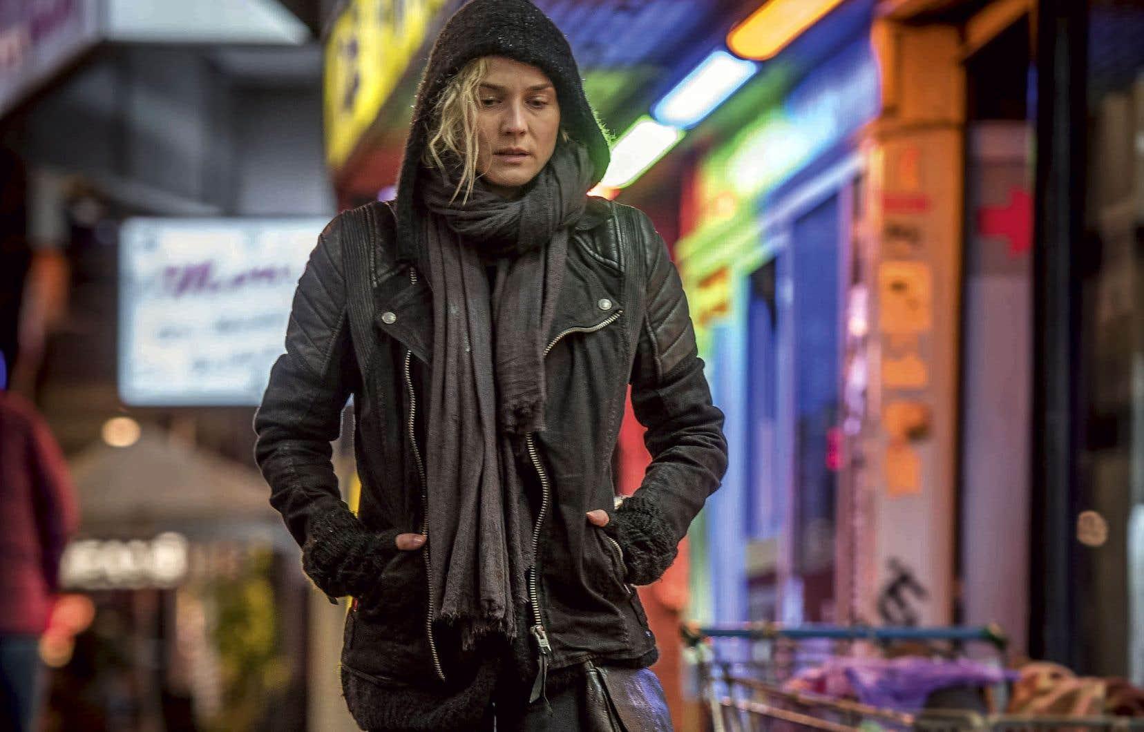 «Hors de nulle part» offre son meilleur rôle en carrière à l'actrice Diane Kruger, lauréate du Prix d'interprétation féminine à Cannes.