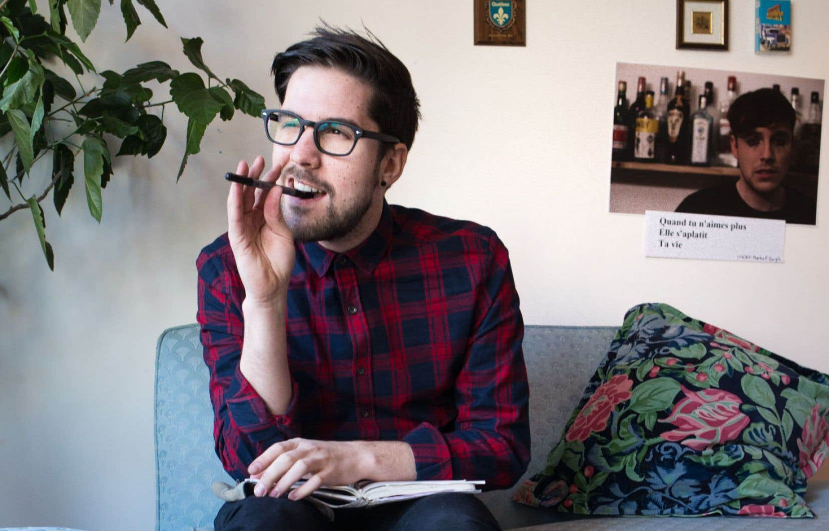 À fleur de peau, l'auteur Jonathan Bécotte livre un récit poétique et vibrant.