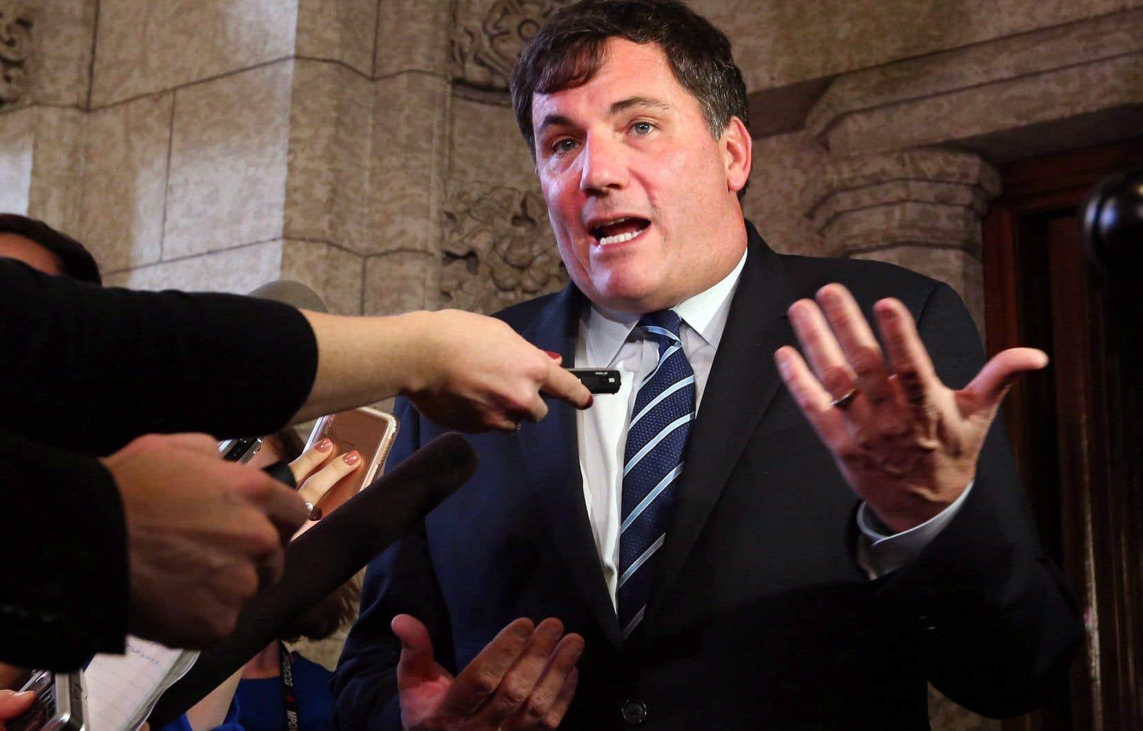 Le ministre de Pêches et Océans Canada, Dominic LeBlanc