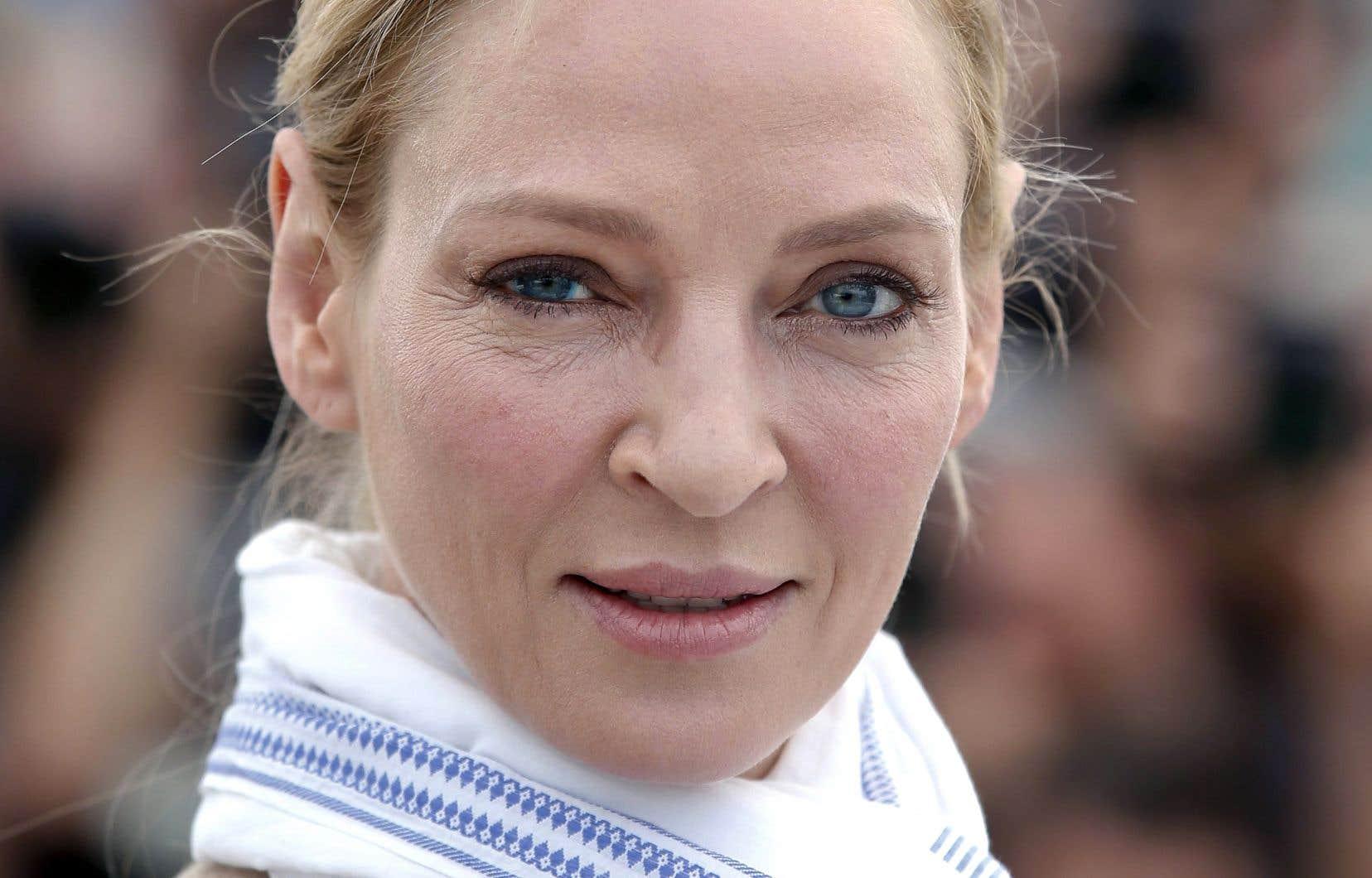 L'actrice au regard perçant a notamment travaillé avec Harvey Weinstein pour les films <em>Pulp Fiction</em> et <em>Kill Bill</em>.