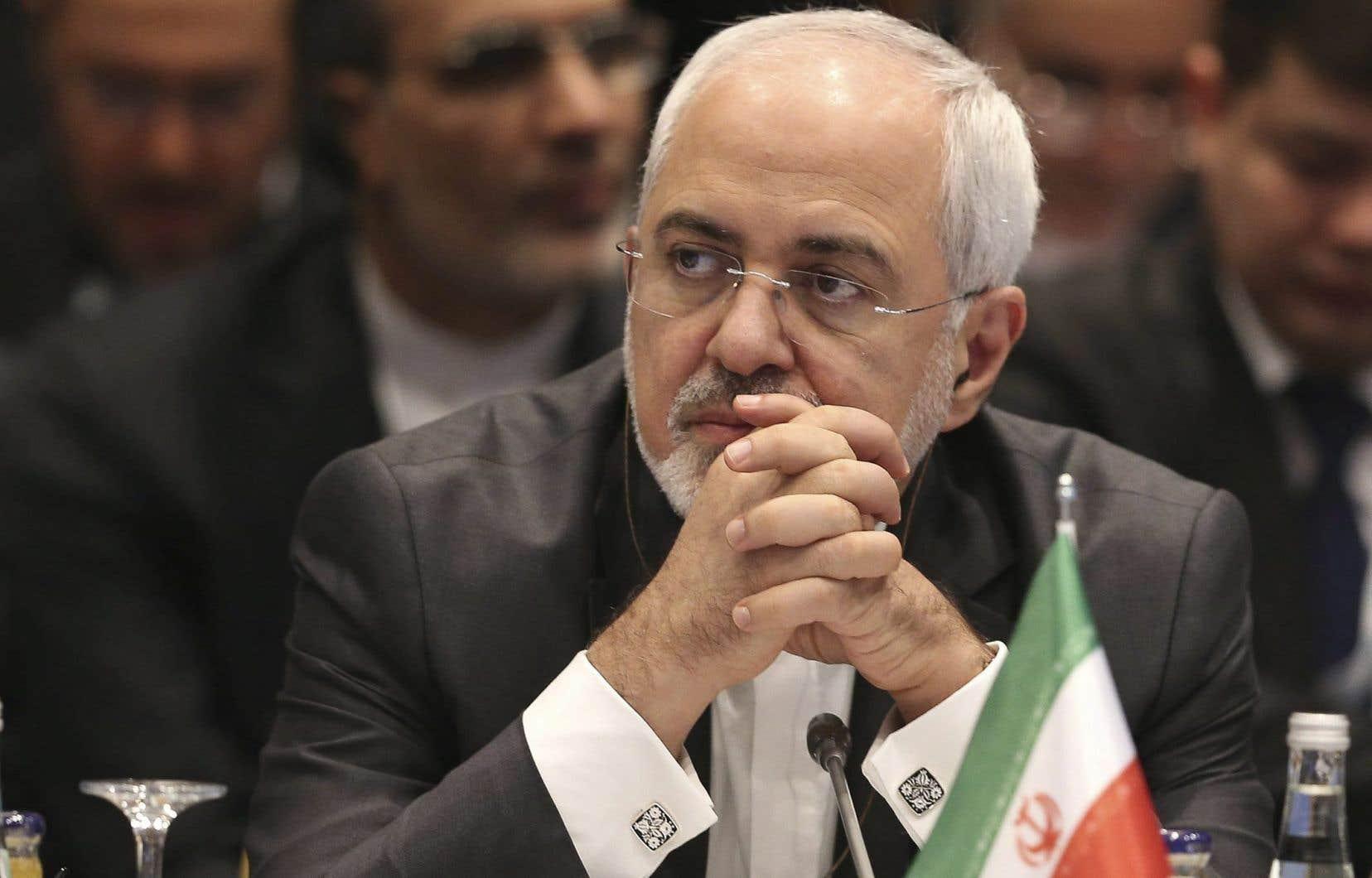 Le ministre des Affaires étrangères iranien, Mohammad Javad Zarif