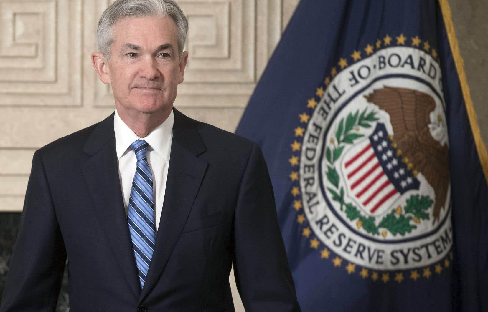 Jerome Powell a pris officiellement les rênes de la Réserve fédérale américaine lundi en promettant notamment de respecter la tradition d'indépendance de l'institution monétaire.