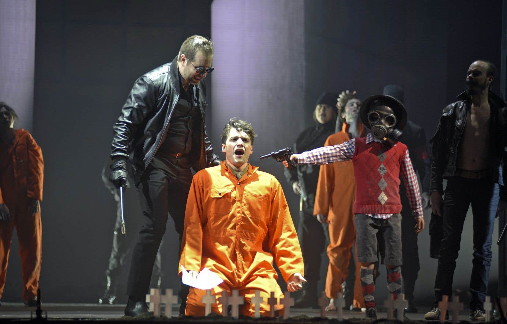 «Another Brick in the Wall – l'opéra», une création de l'Opéra de Montréal composée par Julien Bilodeau, a été désigné événement musical de l'année.