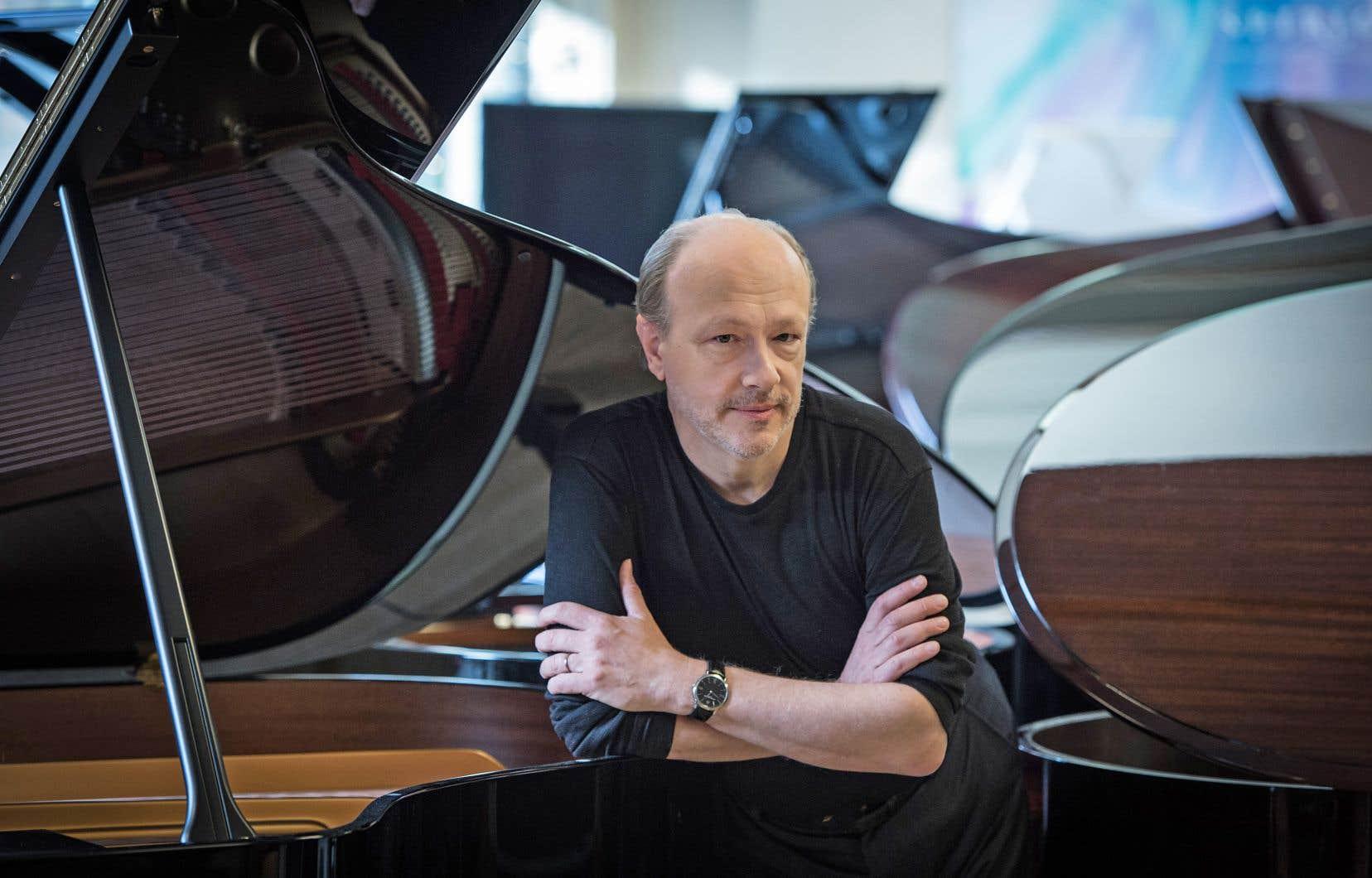 Le pianiste québécois Marc-André Hamelin se fait également compositeur à ses heures.