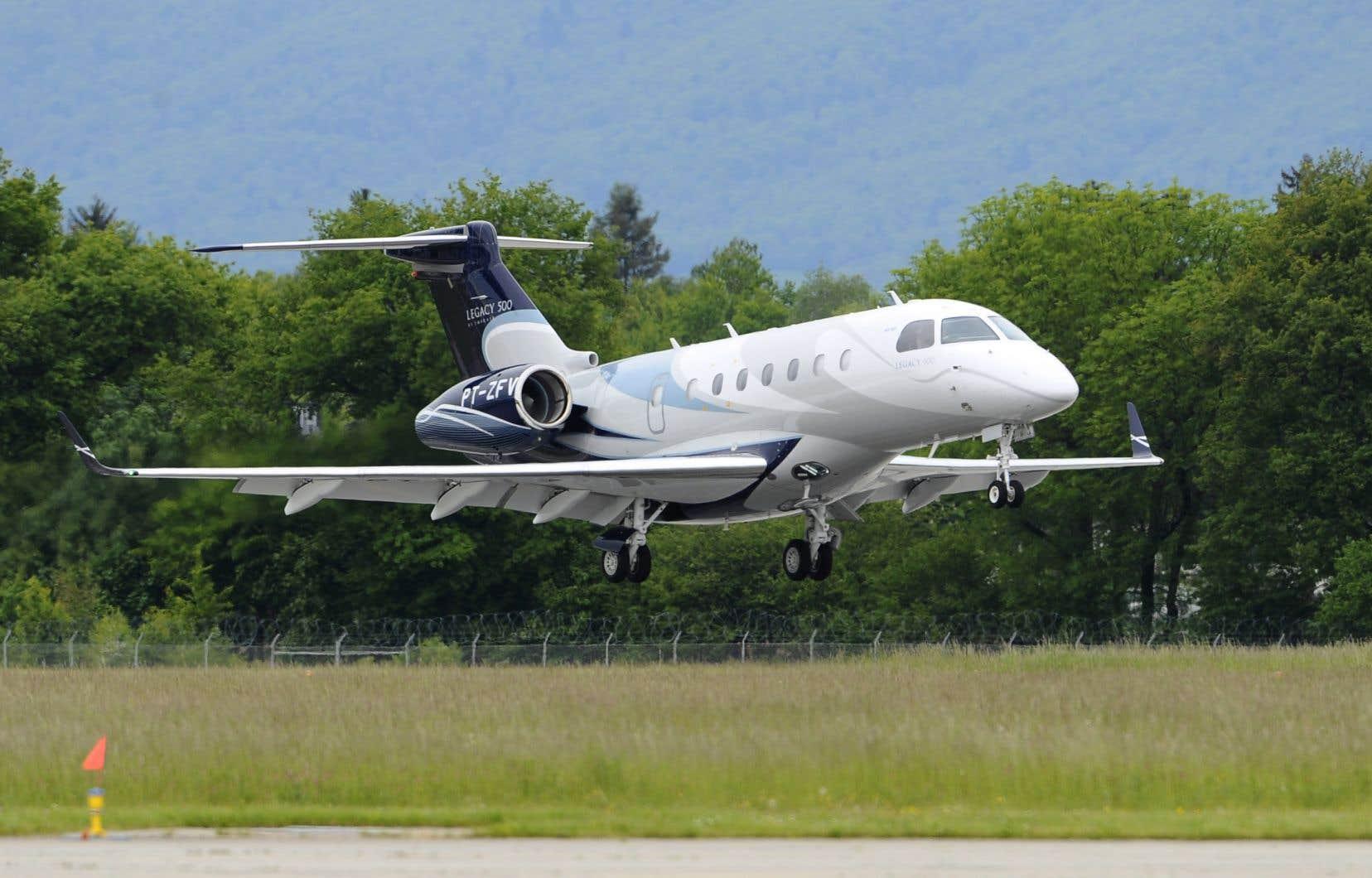 La société établie à Longueuil est également un fournisseur d'Embraer pour ses jets d'affaires Legacy 400 et 500.