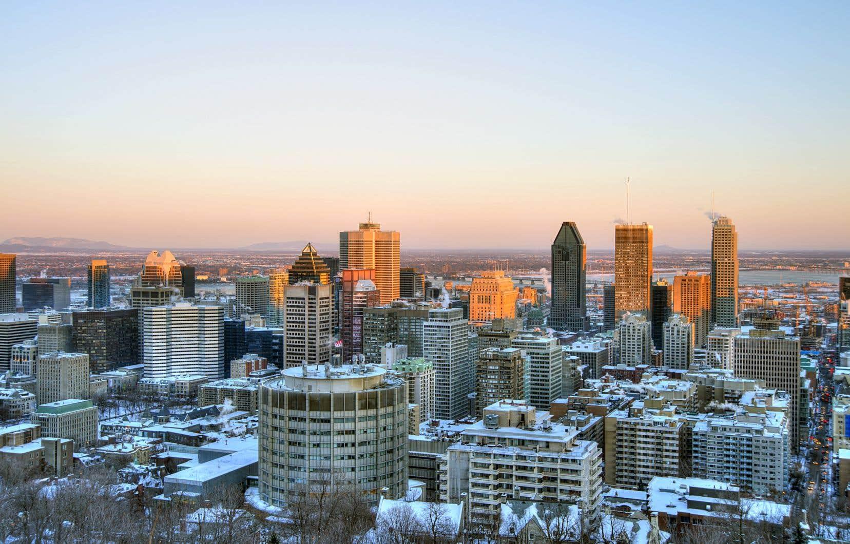 Montréal écrit que «l'illustration appartient à la Ville», qui l'a commandée à une agence qui «travaille sur des projets hautement créatifs d'envergure internationale», qu'elle ne nomme pas.
