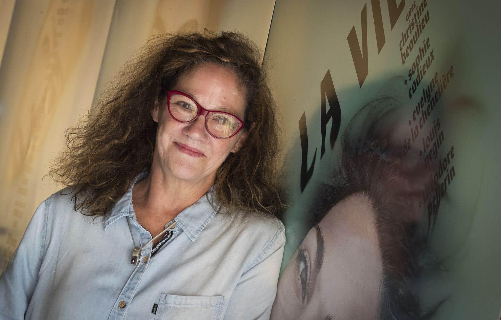 C'est Ginette Noiseux, directrice du théâtre Espace Go, qui a sonné l'alarme.