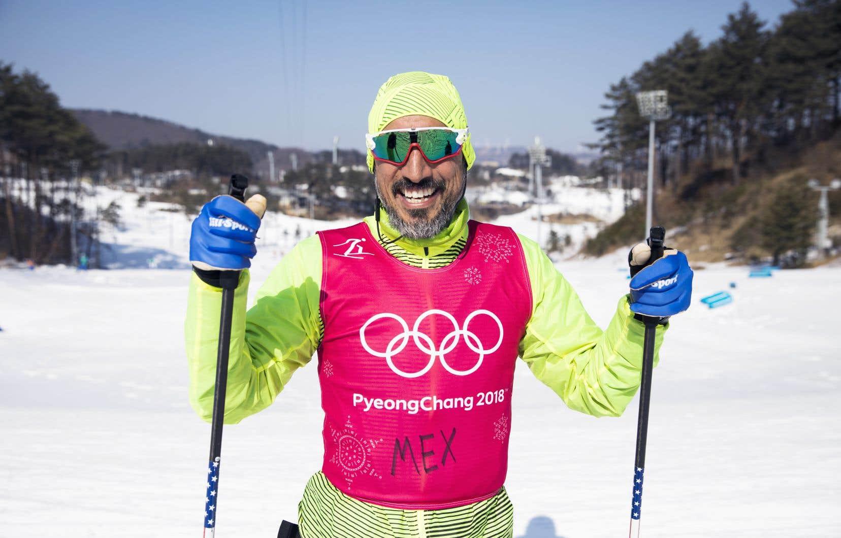 C'est en janvier 2017 que German Madrazo, déjà âgé de 42ans, s'accroche pour la première fois de sa vie des skis de fond aux pieds.
