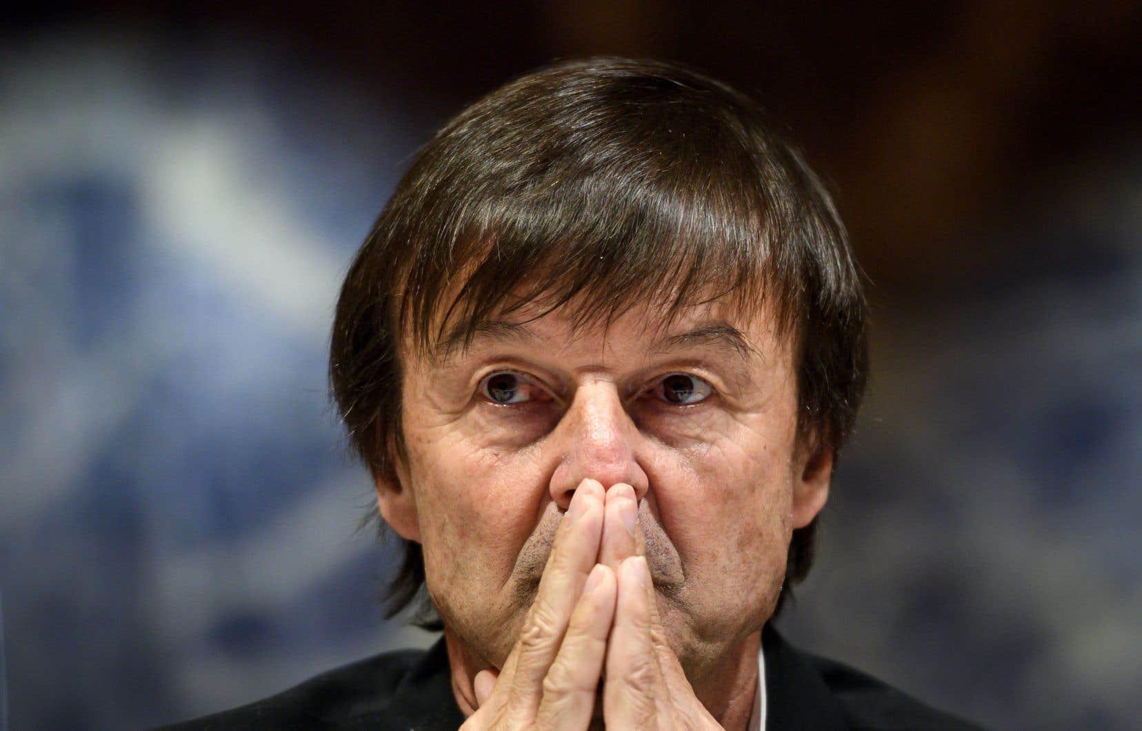 Nicolas Hulot, ministre de la Transition écologique, est un des membres les plus populaires du gouvernement français.