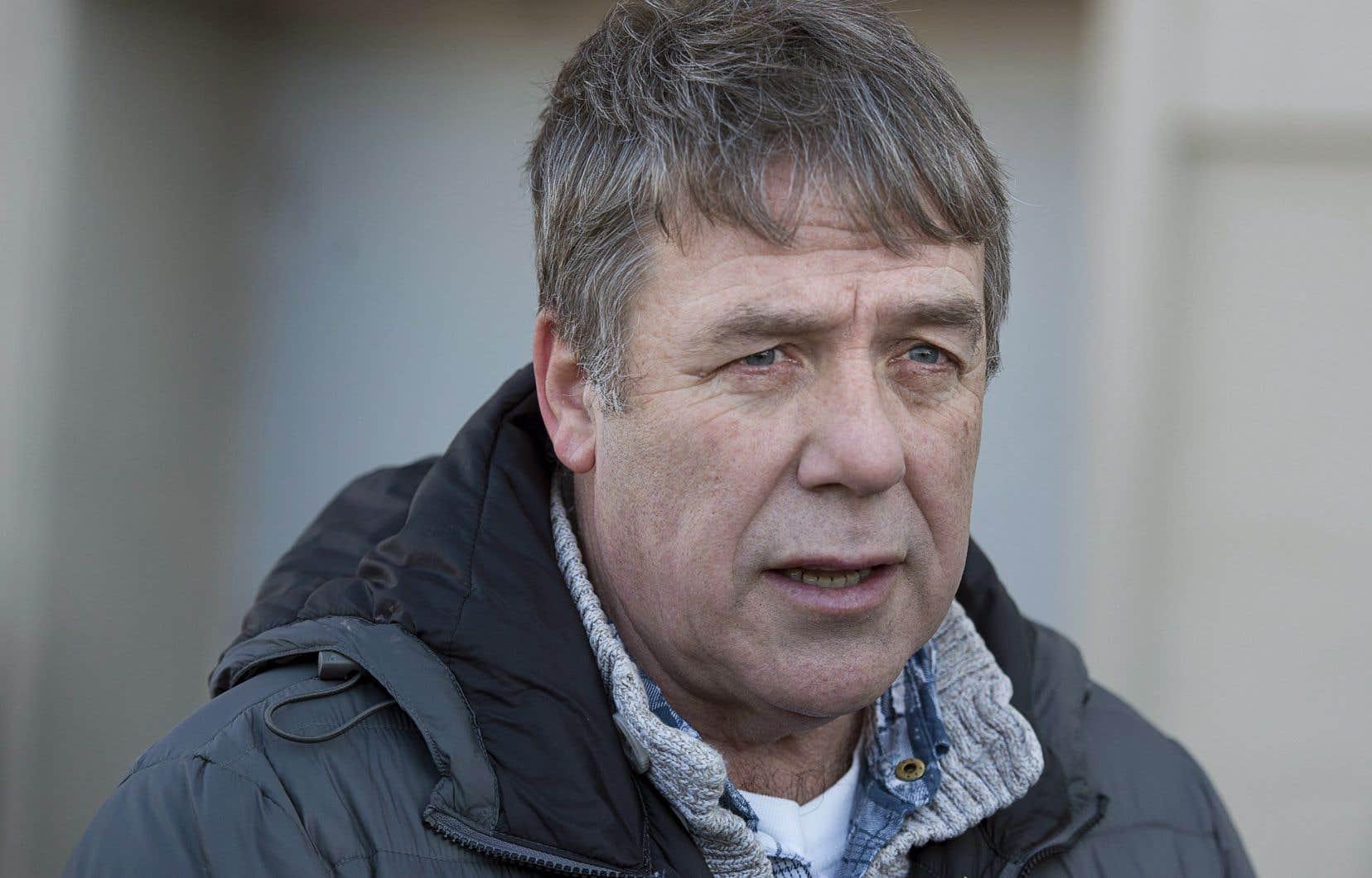 L'ancien député néodémocrate Peter Stoffer, vendredi, à Halifax