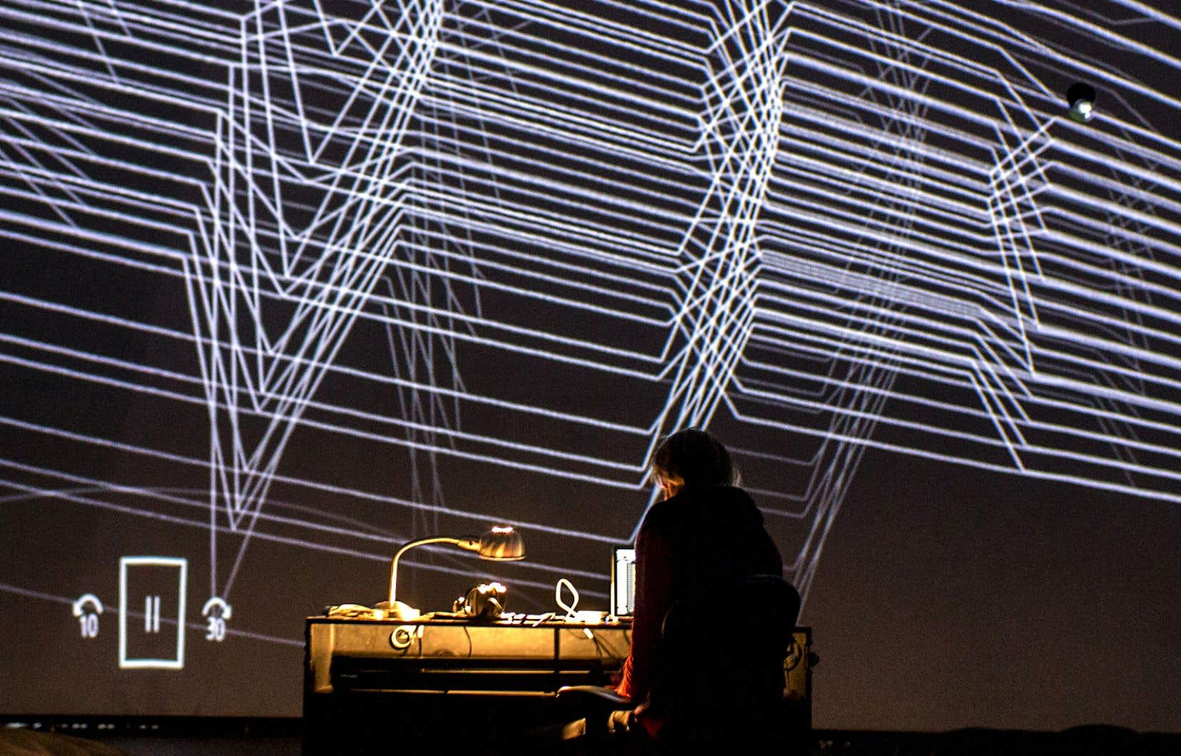 Il se dégage une impression rétro-futuriste de «NAscent», la nouvelle œuvre audiovisuelle du Montréalais Vergil Sharkya.