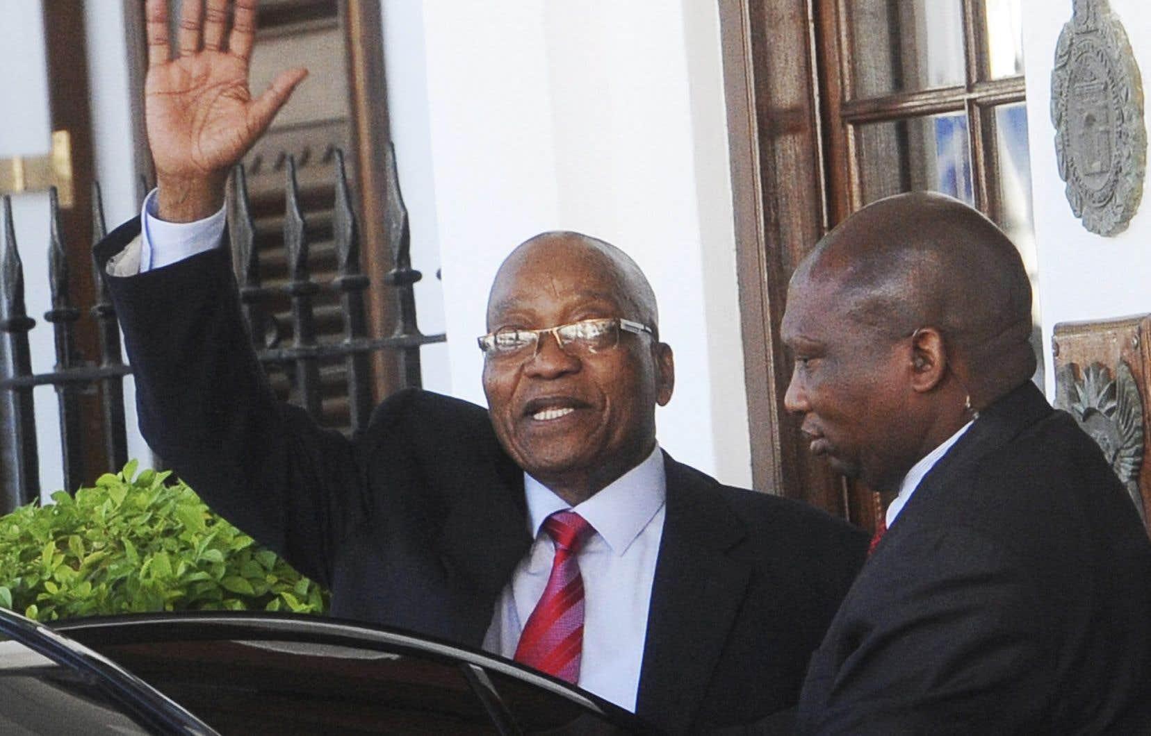 L'autorité du président Zuma a commencé à vaciller depuis l'élection en décembre de M.Ramaphosa qui lui a succédé à la tête de l'ANC.
