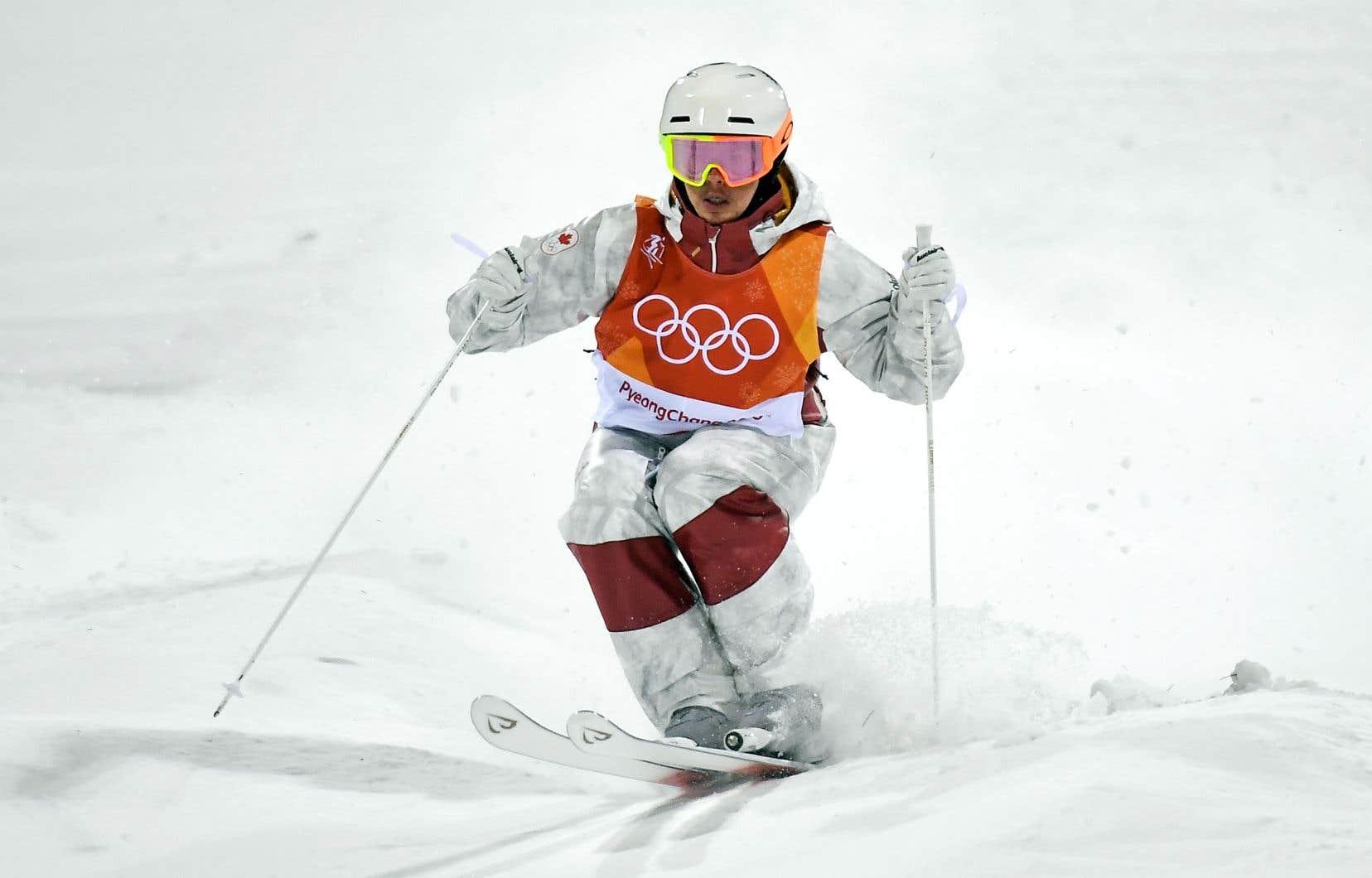 Mikaël Kingsbury a démontré toute sa maîtrise de sa discipline dans la dernière descente lundi pour remporter sa première médaille d'or olympique.