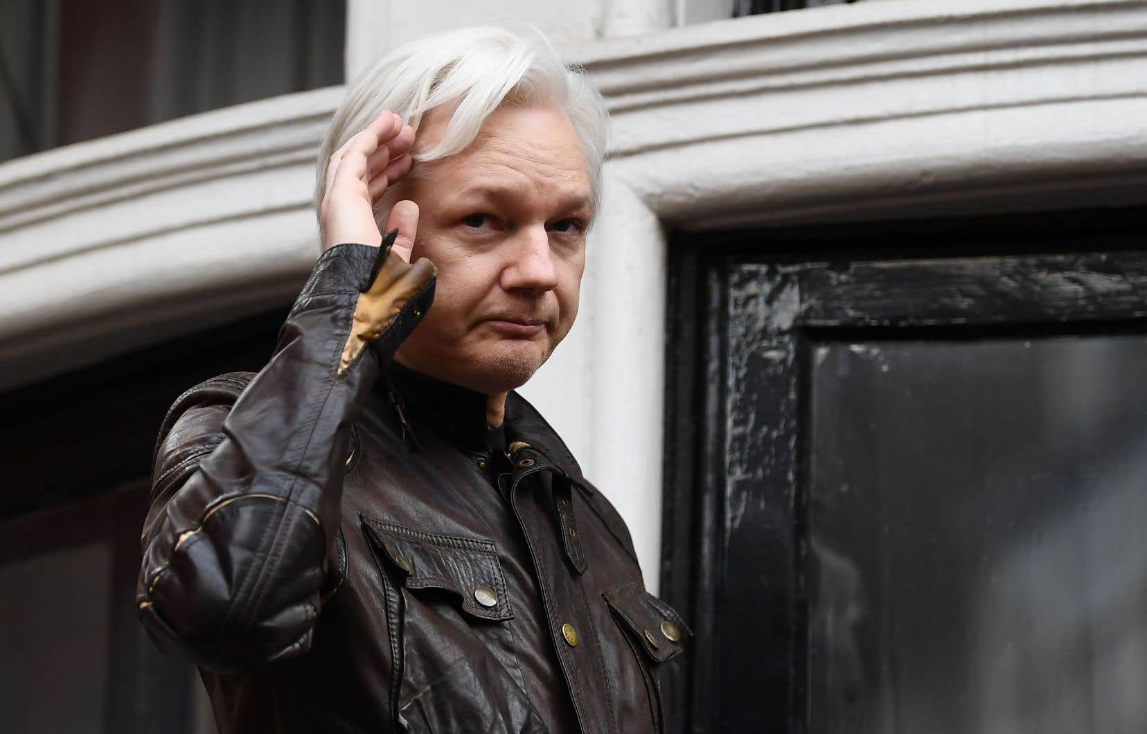 Julian Assange, en mai 2017