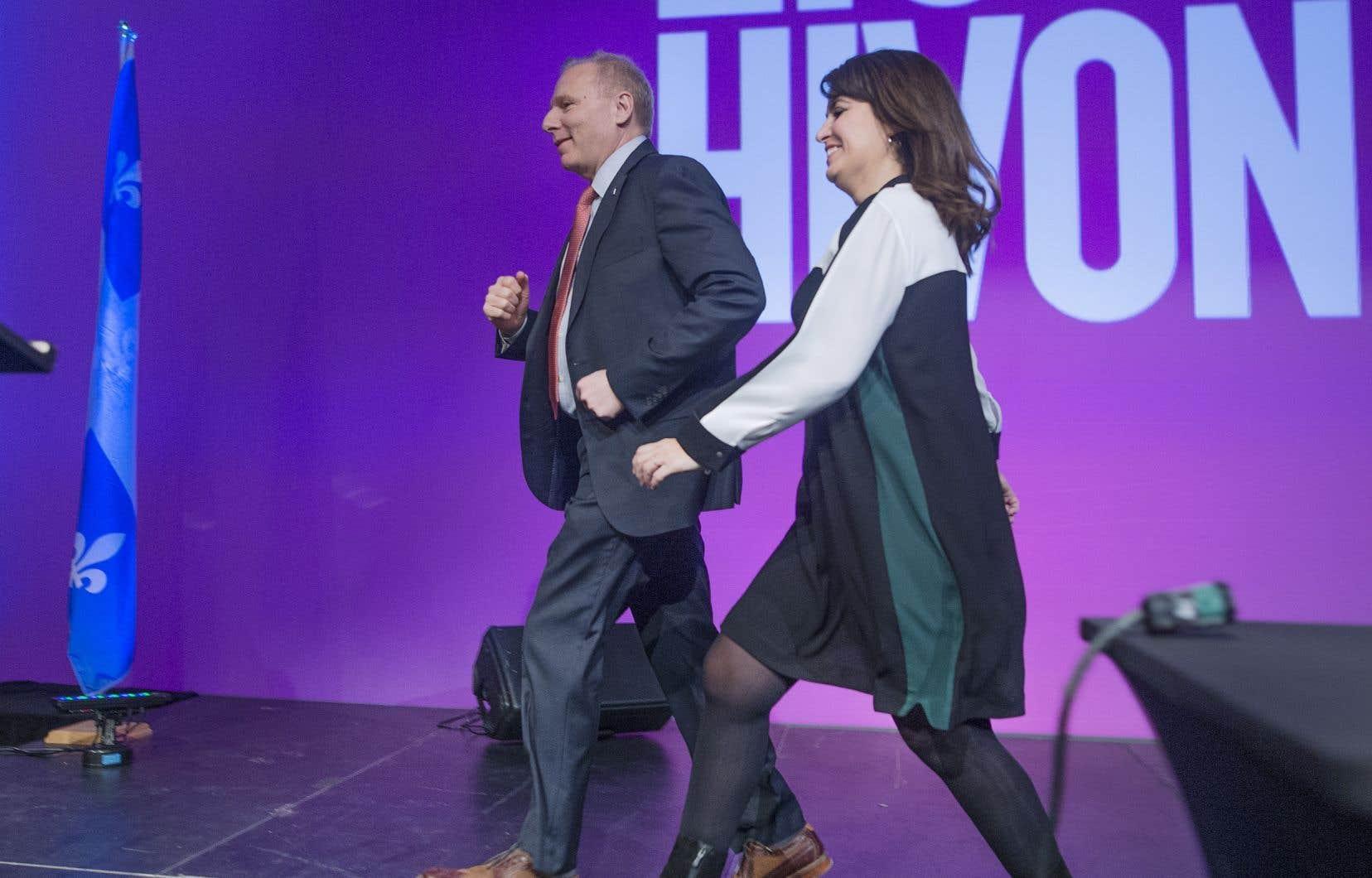 Véronique Hivon est devenue la première «vice-chef» du Parti québécois, qui n'en avait jamais connu depuis sa fondation.