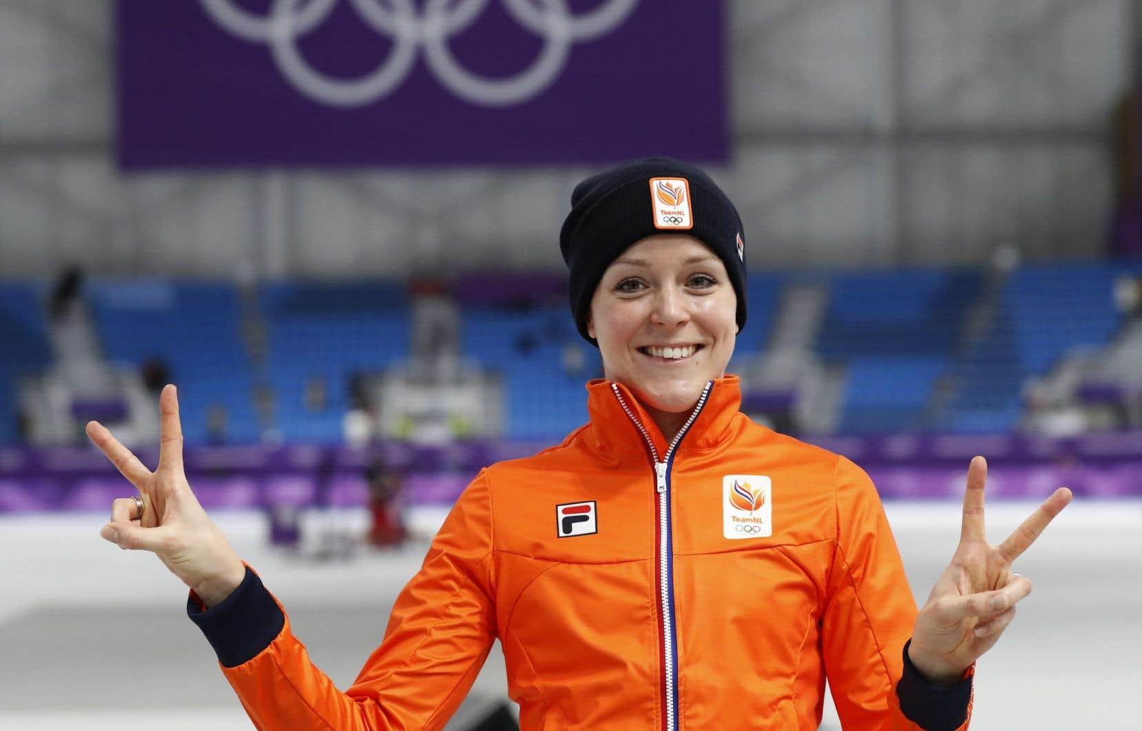 Jorien ter Mors écrase la compétition au 1000 mètres — Patinage de vitesse