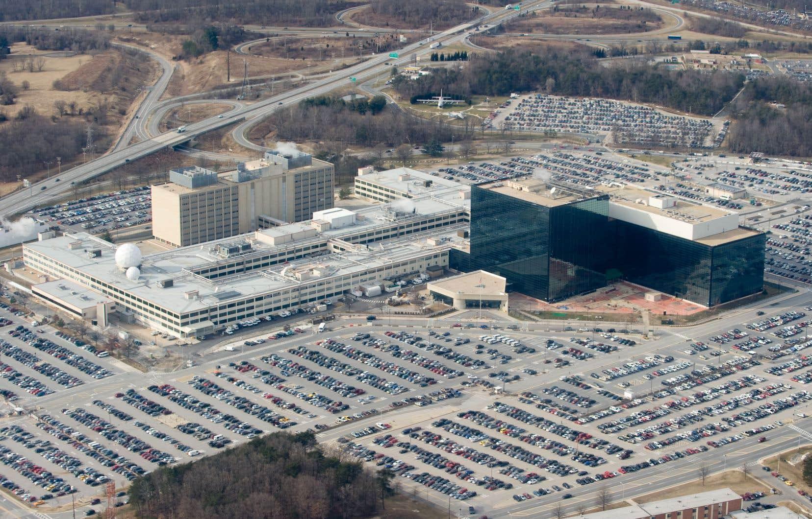 Le quartier général de la NSA est situé à Fort Meade, au Maryland, en banlieue de Washington.