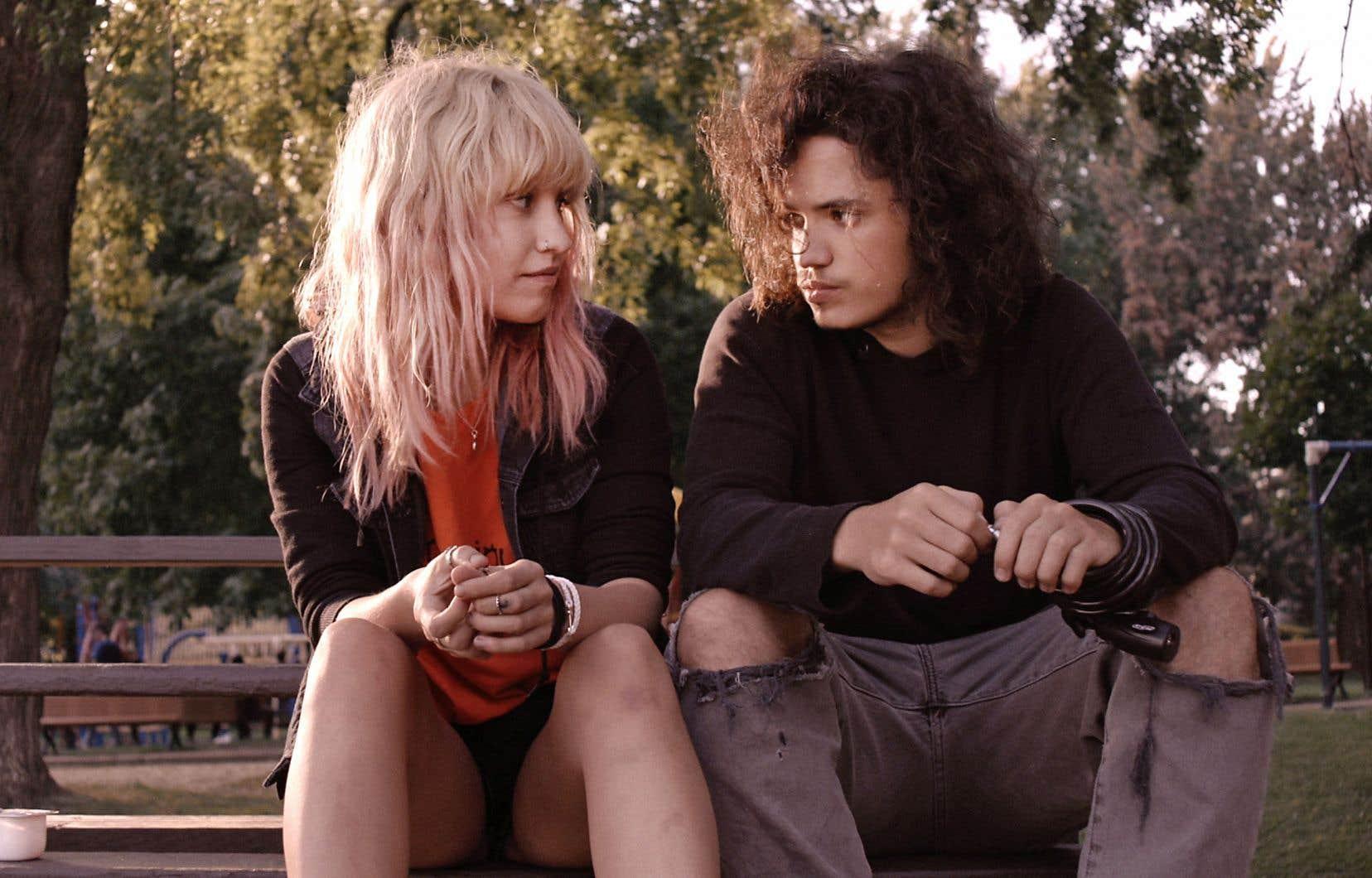 Mag (Rose-Marie Perreault, d'un naturel confondant) et Théo (Anthony Therrien, tout de rage contenue) forment un tandem pas toujours bien accordé.