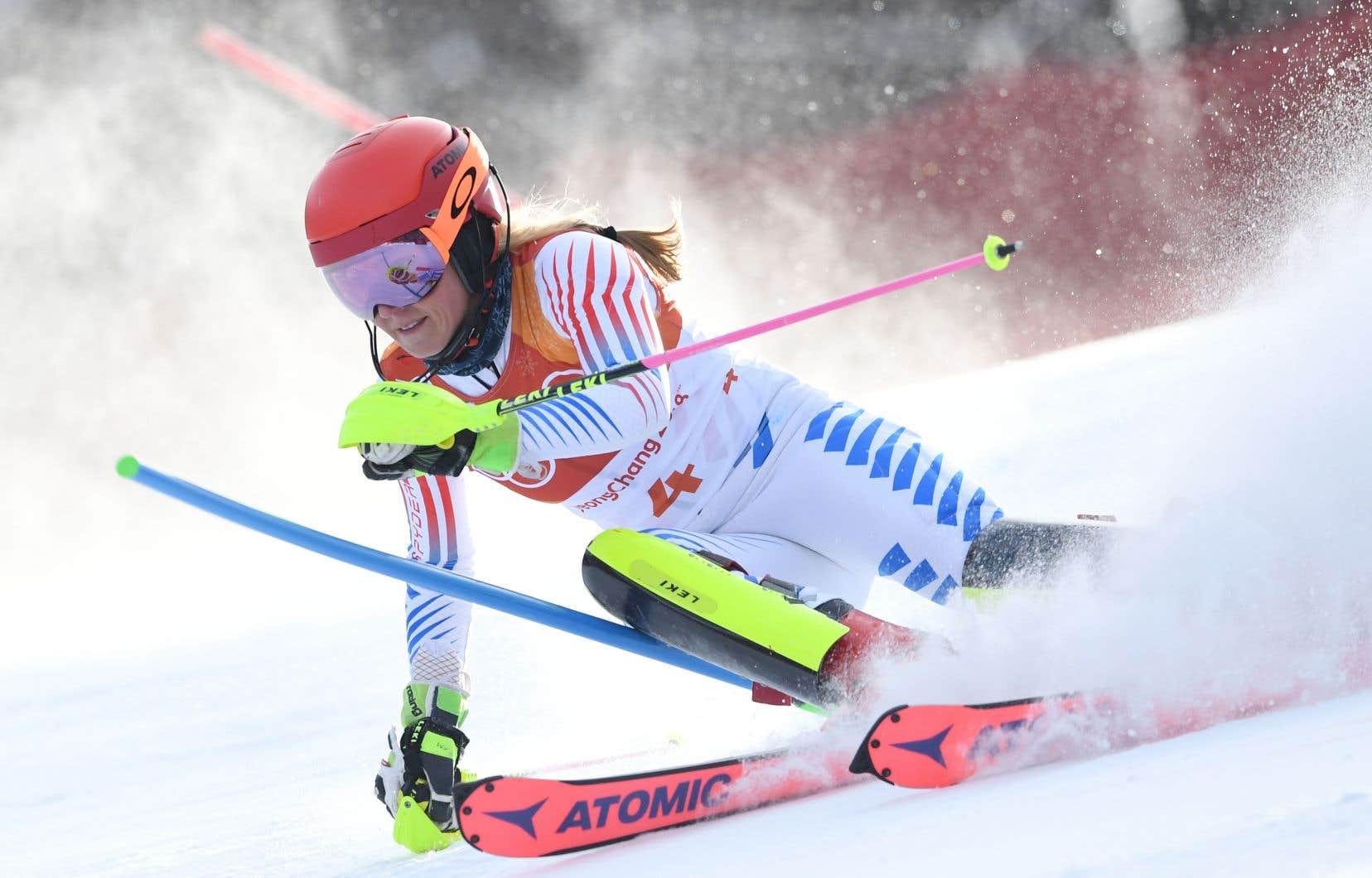 La skieuse Mikaela Shiffrinconvoite quatre médailles d'or à Pyeongchang.