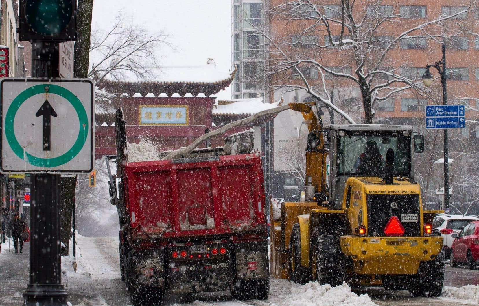 La Ville a obtenu une autorisation exceptionnelle du gouvernement du Québec pour ouvrir deux sites de dépôt à neige additionnels.