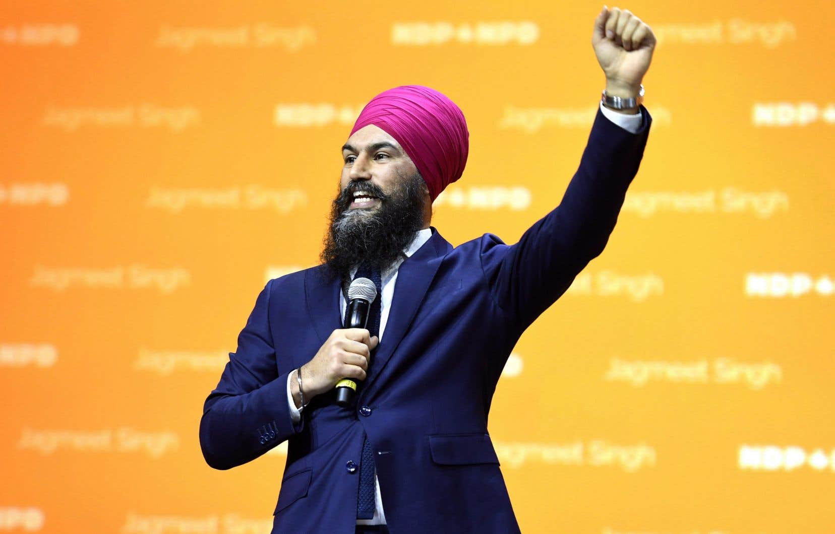 Le chef Jagmeet Singh, élu en octobre, a dû se soumettre à un vote de confiance. Ses appuis se sont élevés à 90,7%, samedi.