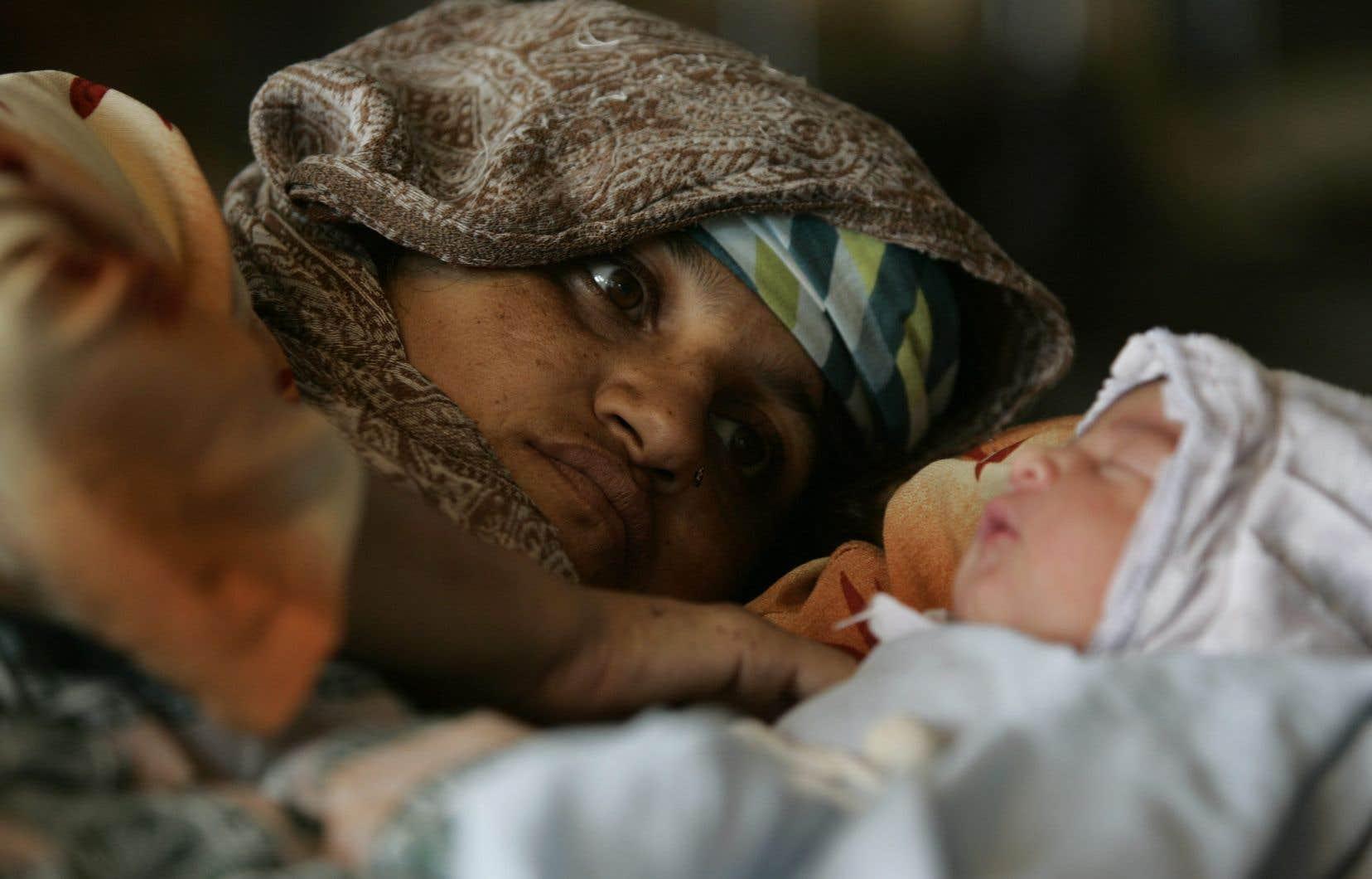 Pays pauvres : toujours une forte mortalité néonatale