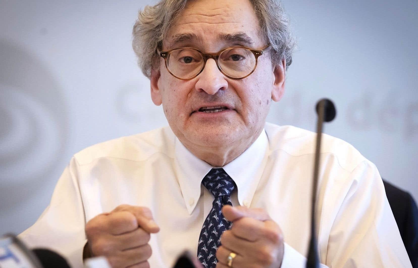 «Si une correction survient, nous sommes prêts», a dit le président de la Caisse de dépôt et placement du Québec, Michael Sabia.
