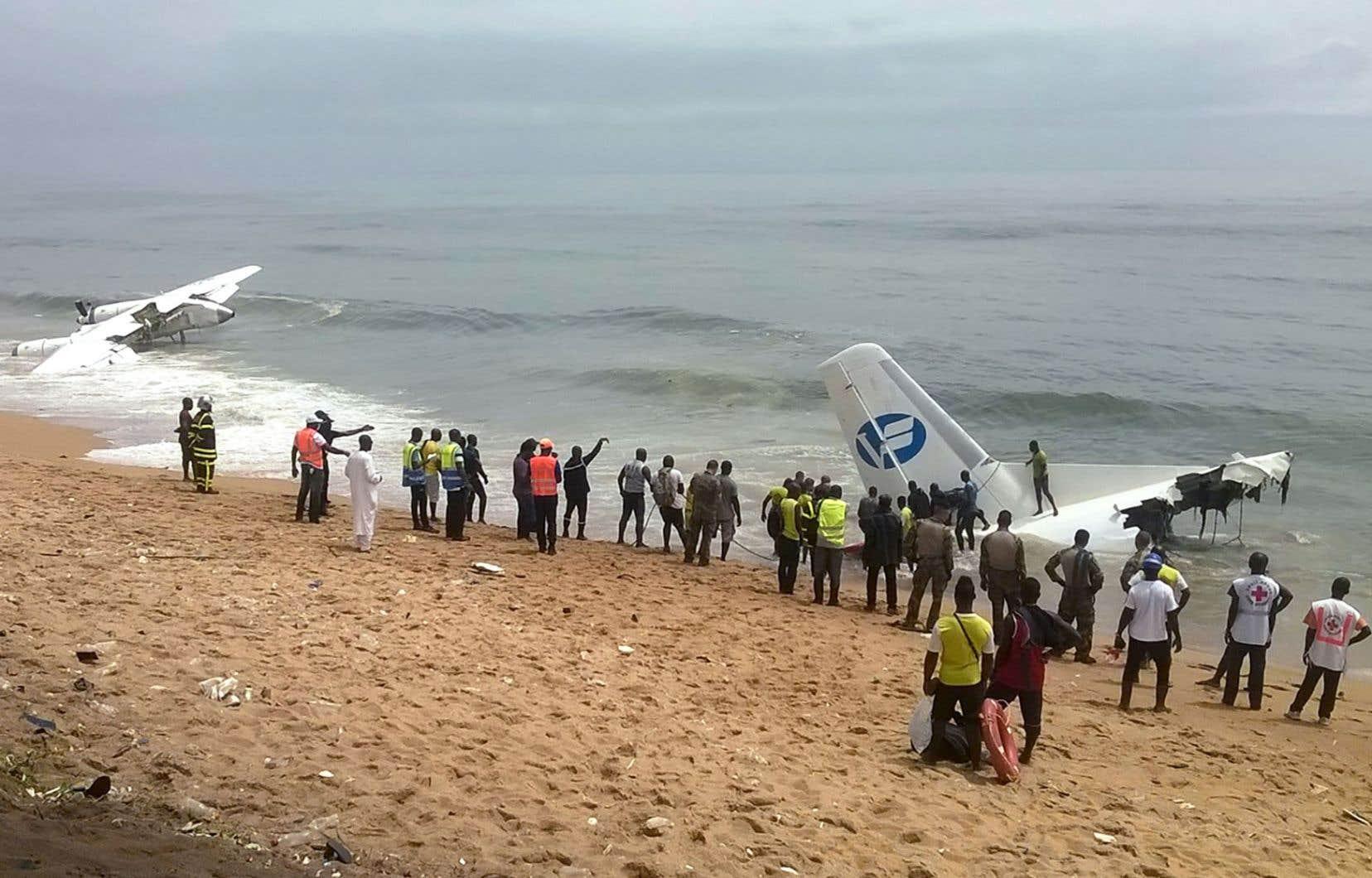 Le 14 octobre 2017, un avion cargo s'est écrasé au large de la Côte d'Ivoire, tuant quatre personnes.